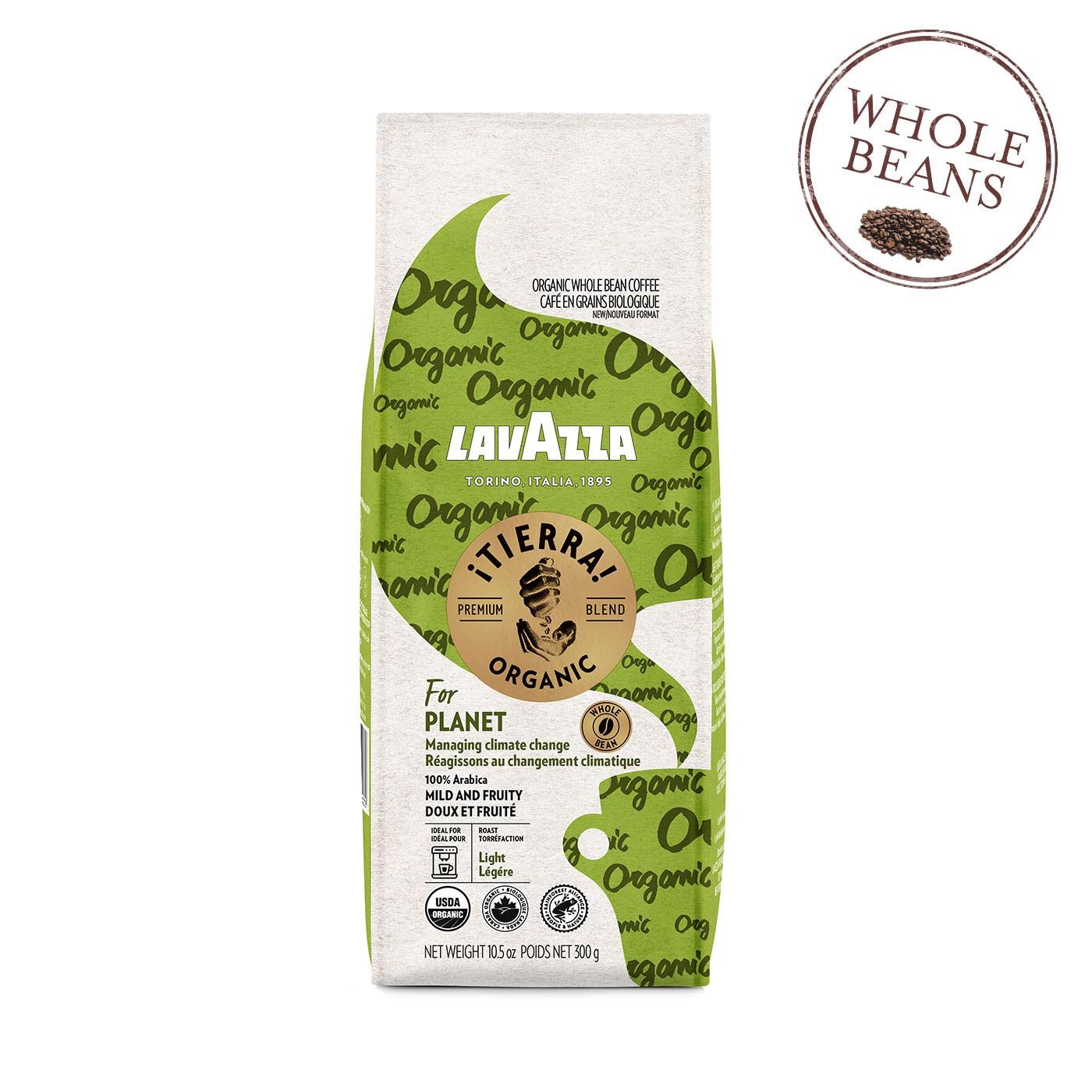 Organic ¡Tierra! Planet Whole Beans 10.5 oz - Lavazza | Eataly.com