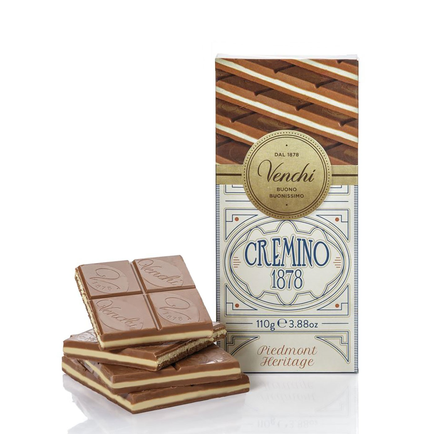 Cremino 1878 Chocolate Bar 3.5 oz