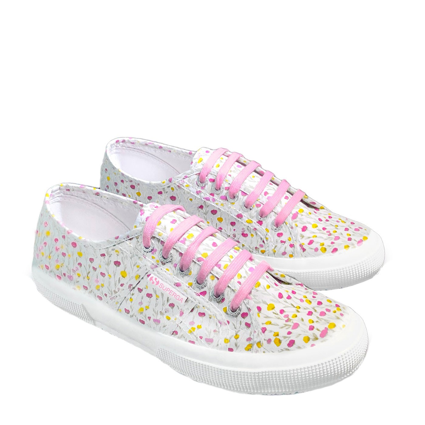 Floral Sneakers Size 35 - Superga