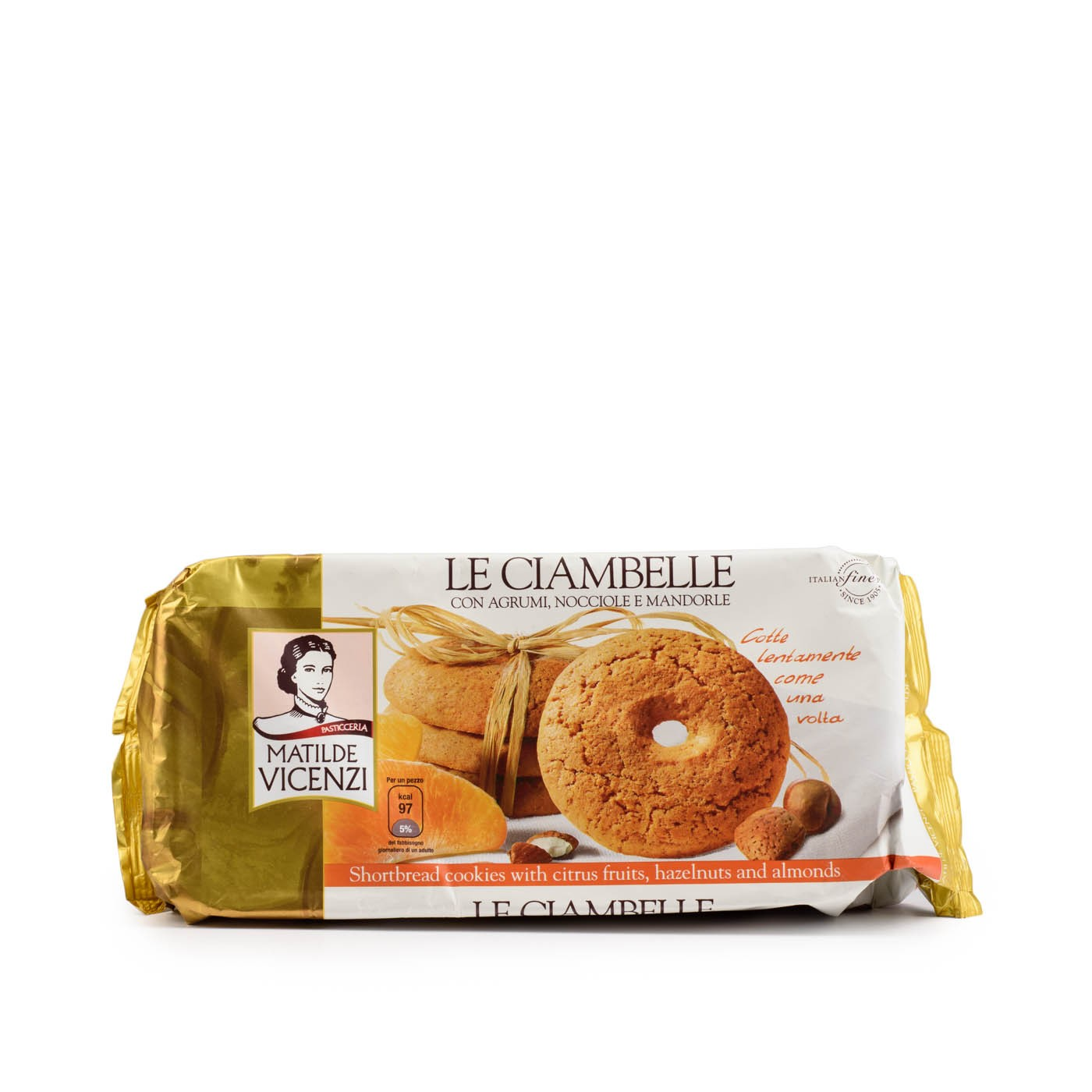Ciambelle Cookies with Hazelnut, Almond, Fruit 7.05oz