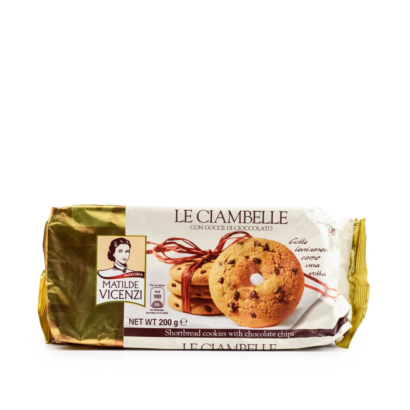 Ciambelle Chocolate Chip Cookies 7.1oz