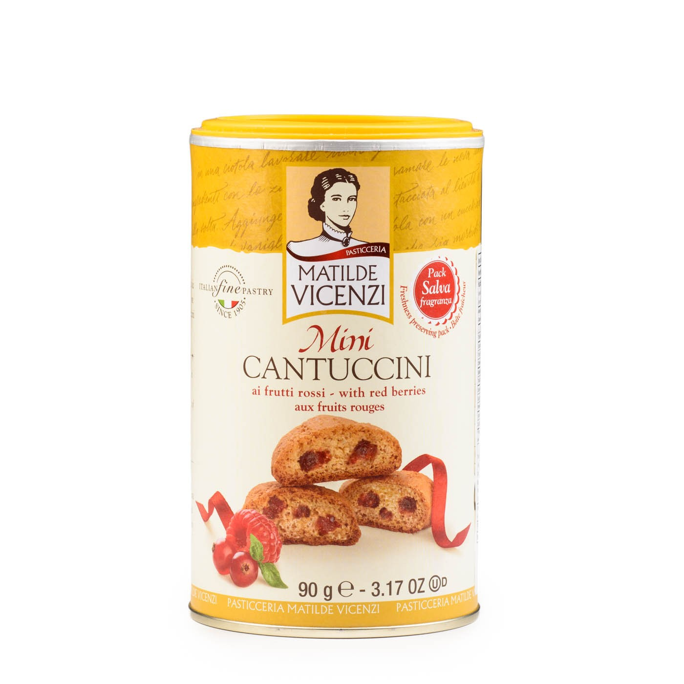 Mini Cantuccini with Berries 3.2 oz