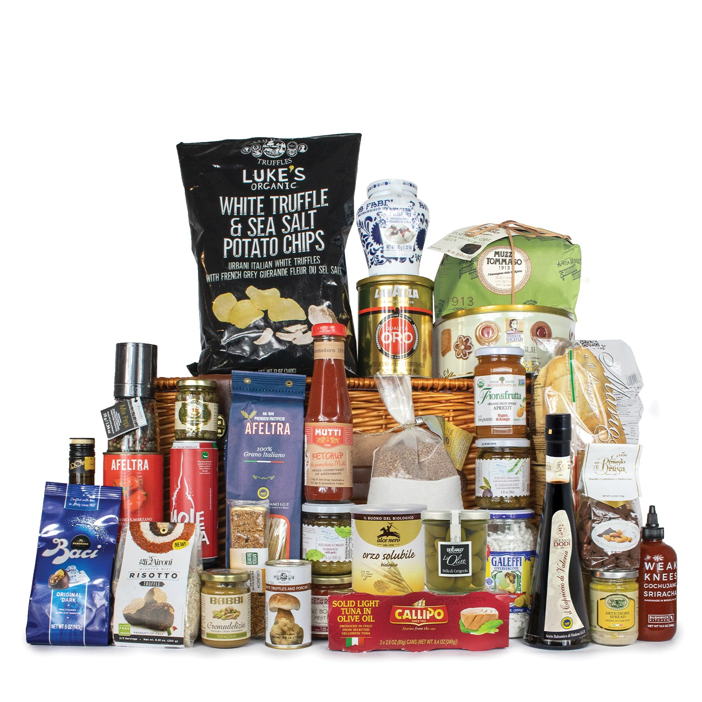 Holiday gift basket: all the best