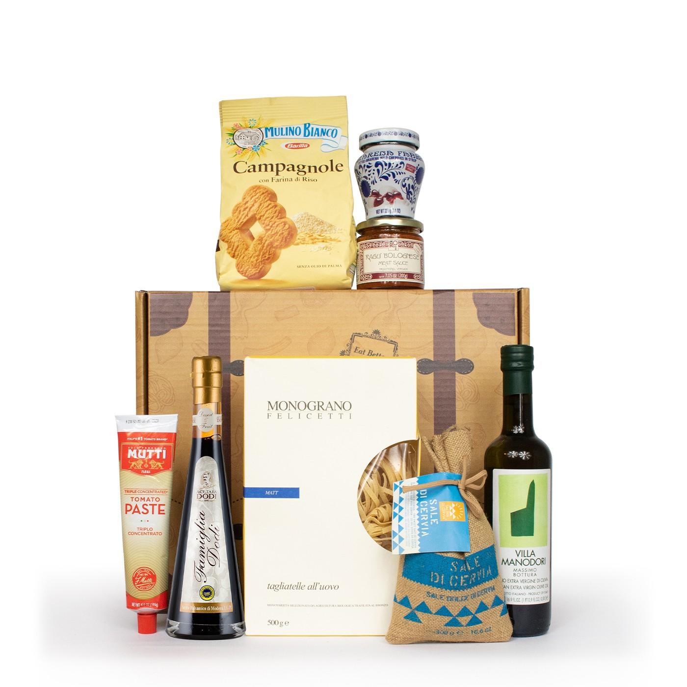 Christmas gift basket: Emilia Romagna regional products