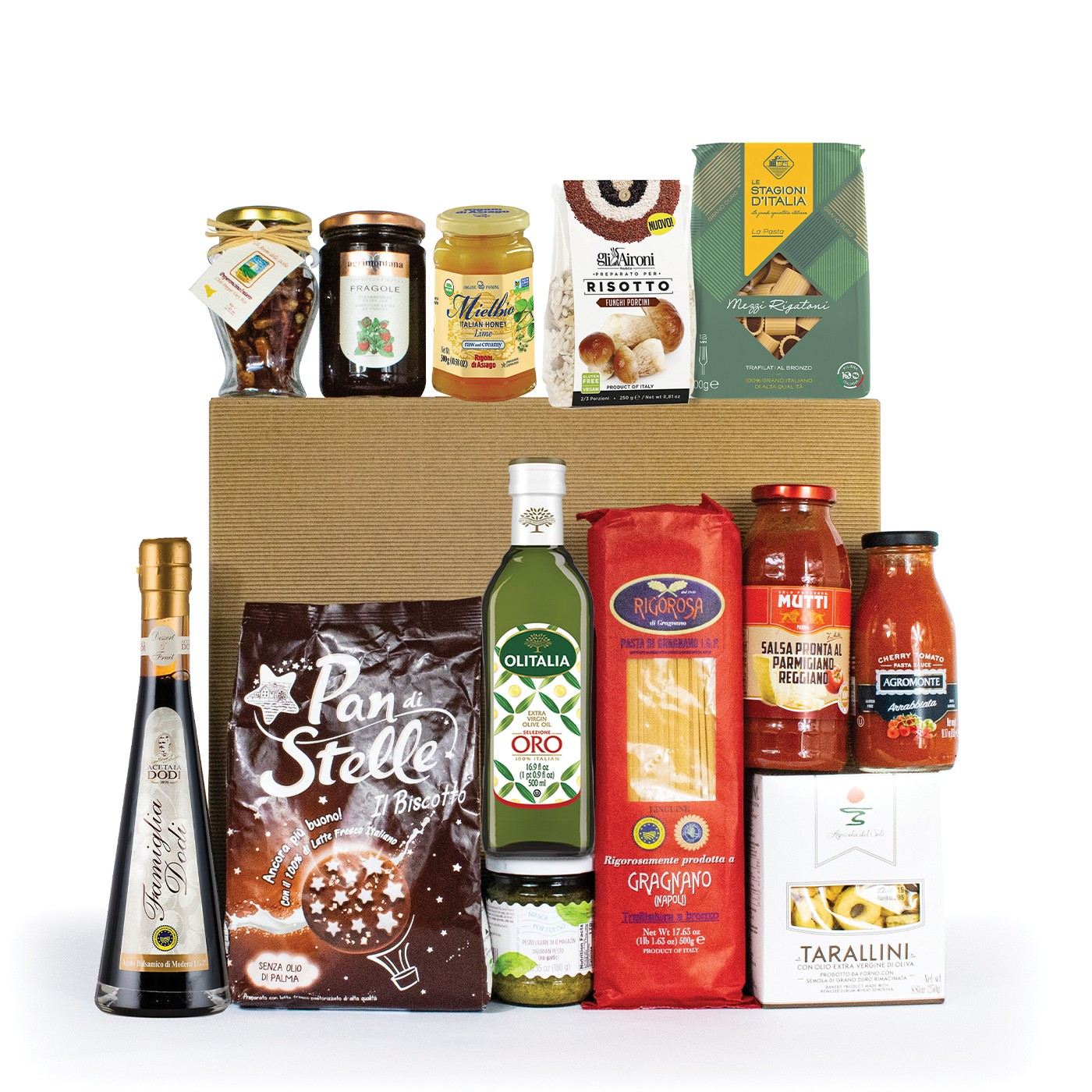 Italian gift basket: regional products