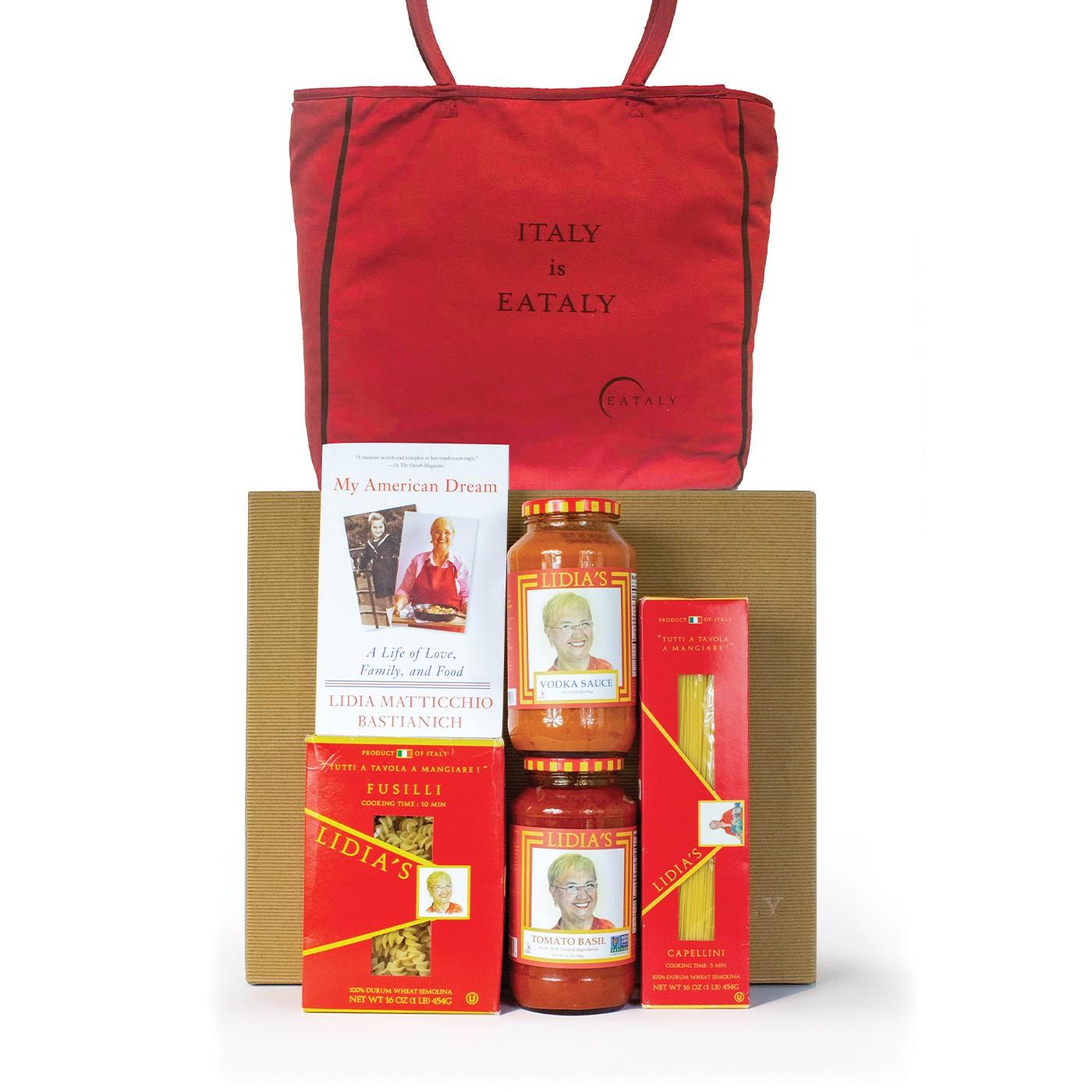 Lidia Bastianich gift basket