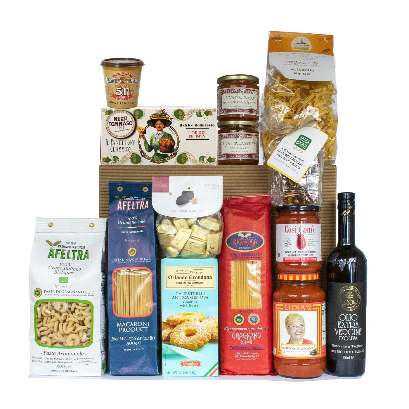 Christmas food gift basket