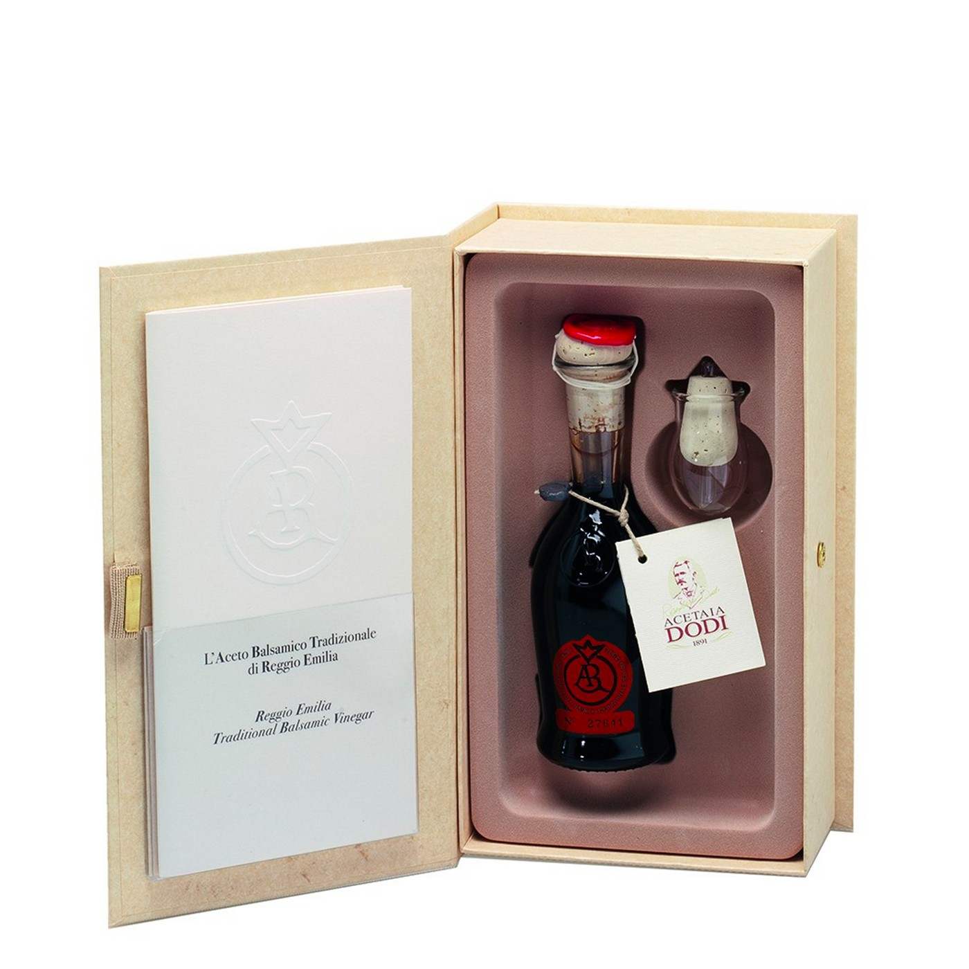12-Year-Aged Balsamic Vinegar from Reggio-Emilia