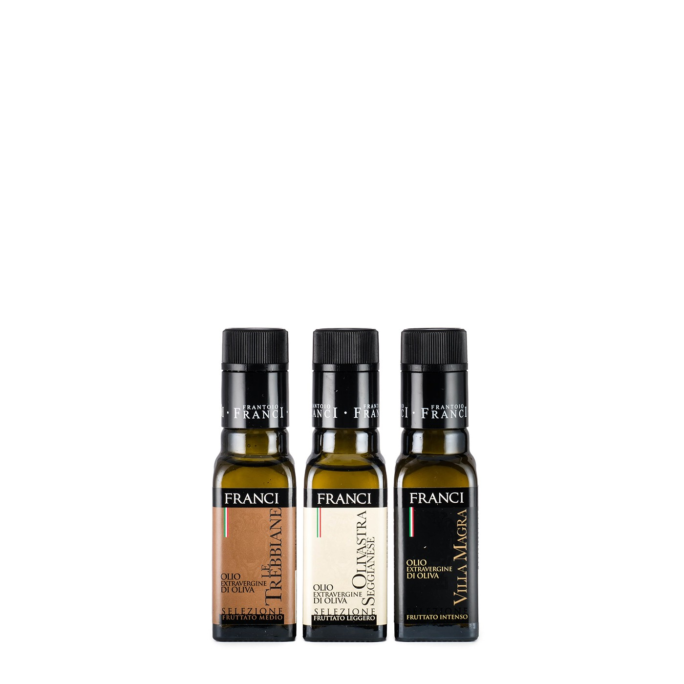 Selection of Three Olive Oils 10.1 fl oz