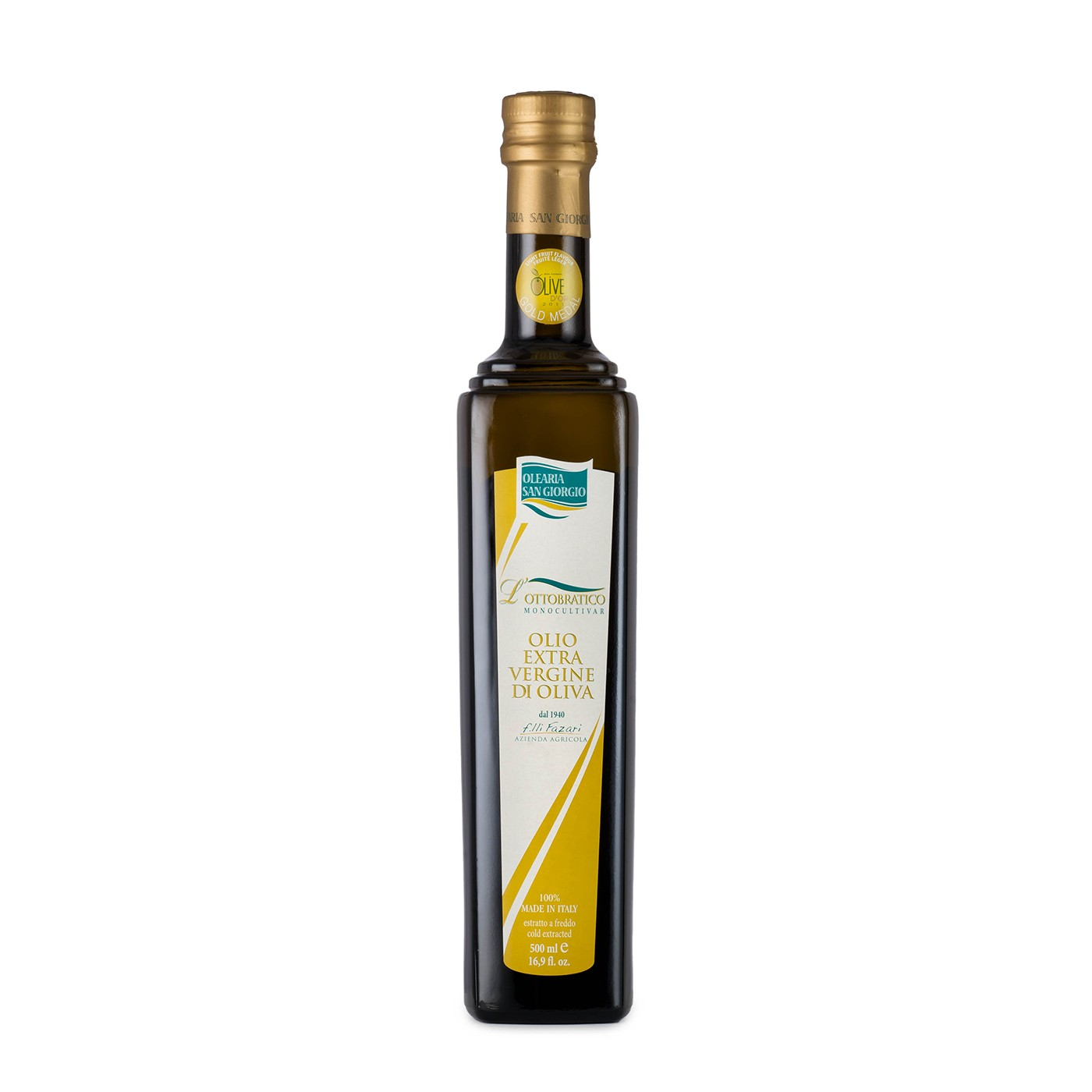 Ottobratico Slow Food Presidia Extra Virgin Olive Oil 16.9 oz