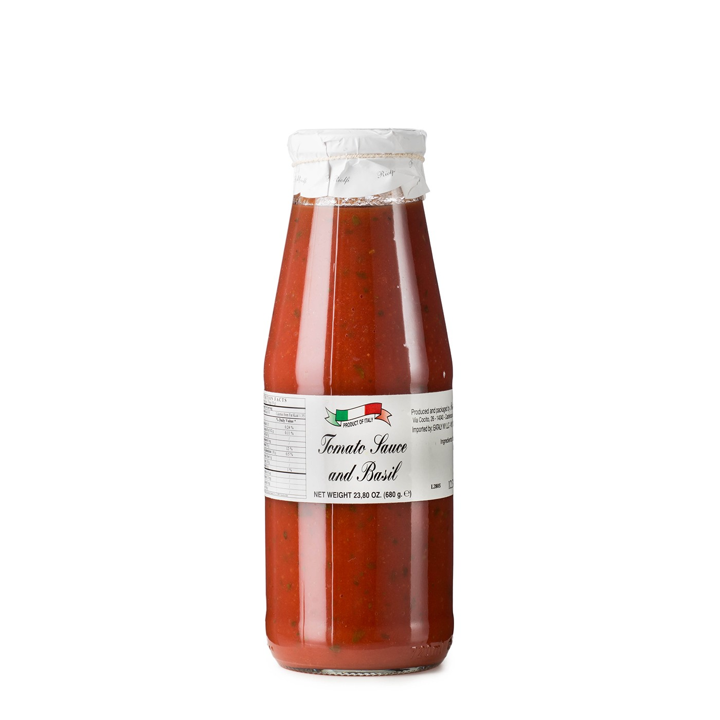 Tomato Passata with Basil 24 oz