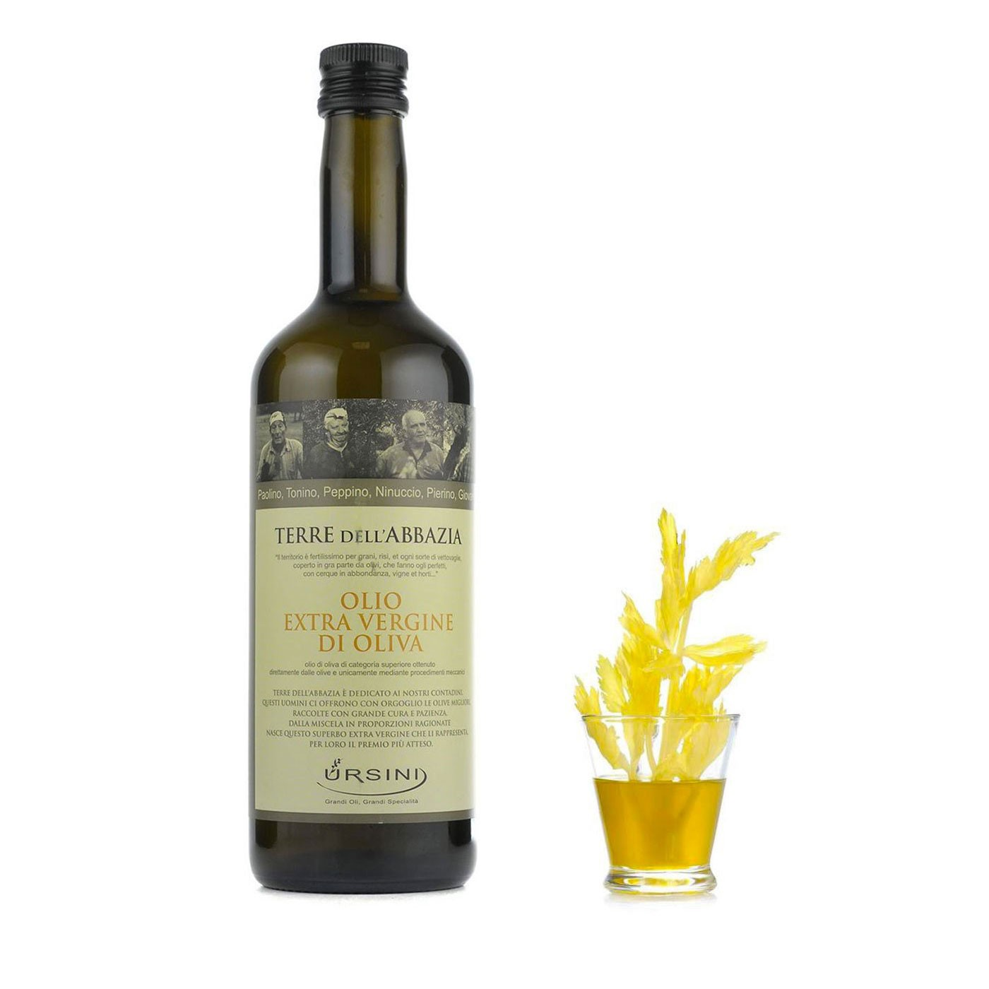 Terre dell'Abbazia Extra Virgin Olive Oil 25.4 oz