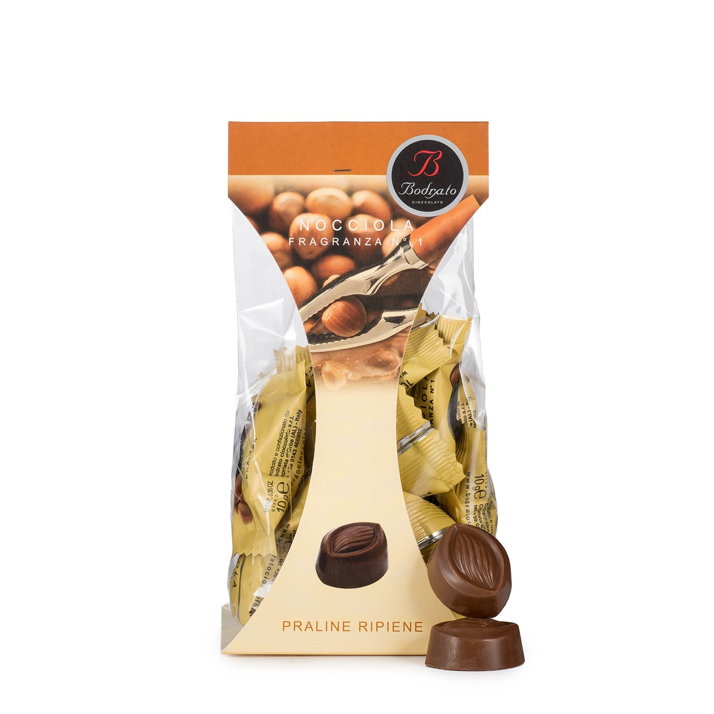 Milk Chocolates with Hazelnut Cream 5.3 oz