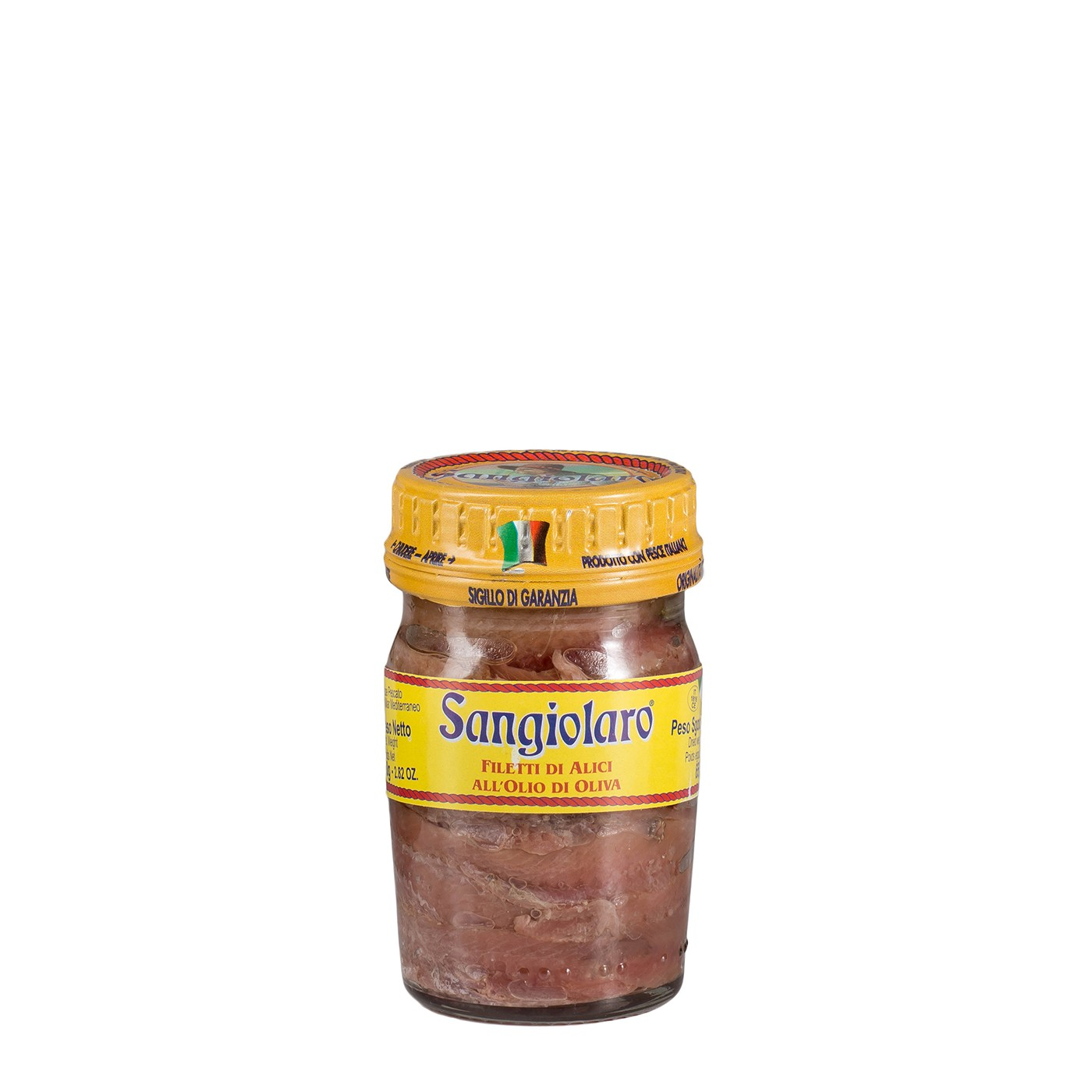 Anchovy Fillets 2.8 Oz - Sangiolaro