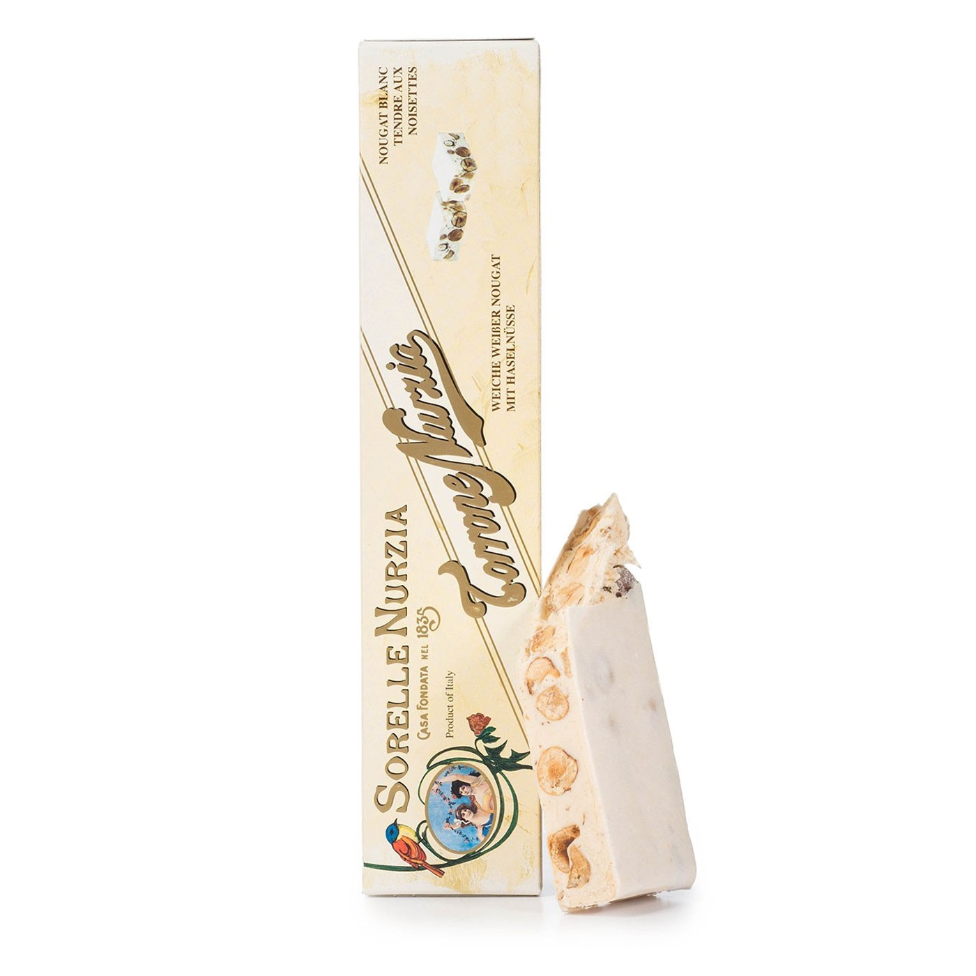 Soft Torrone Hazelnut Nougat 7.1 oz