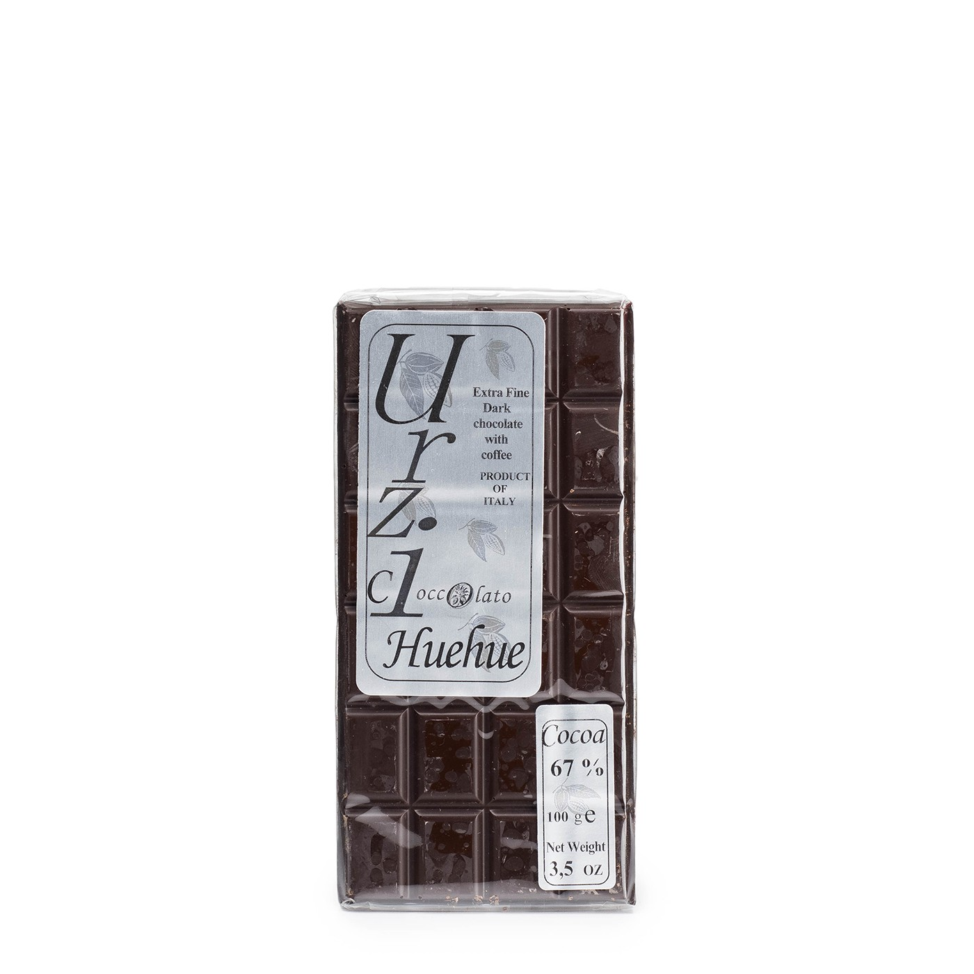 Dark Chocolate with Huehue Coffee 3.5 oz