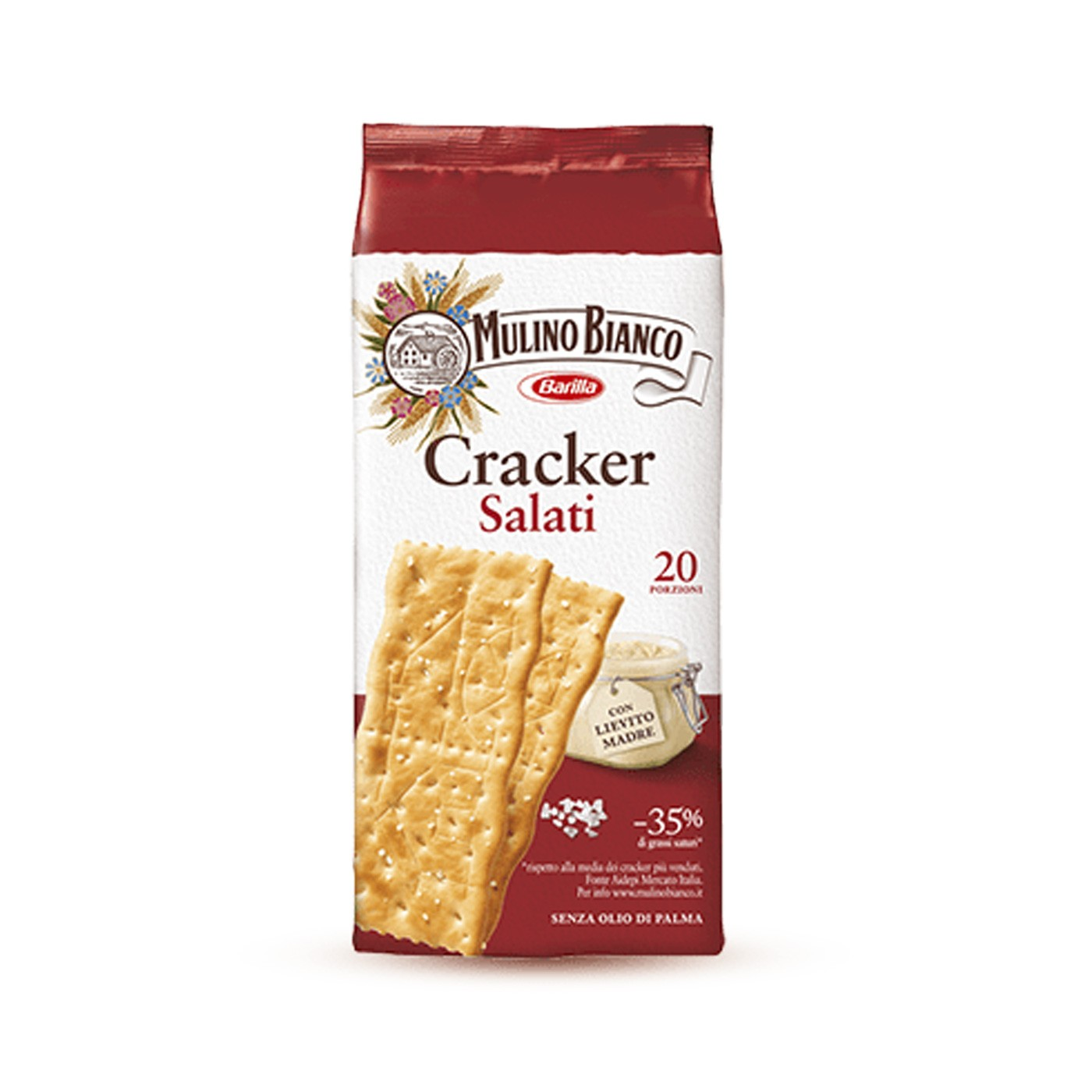 Salted Crackers 17 oz