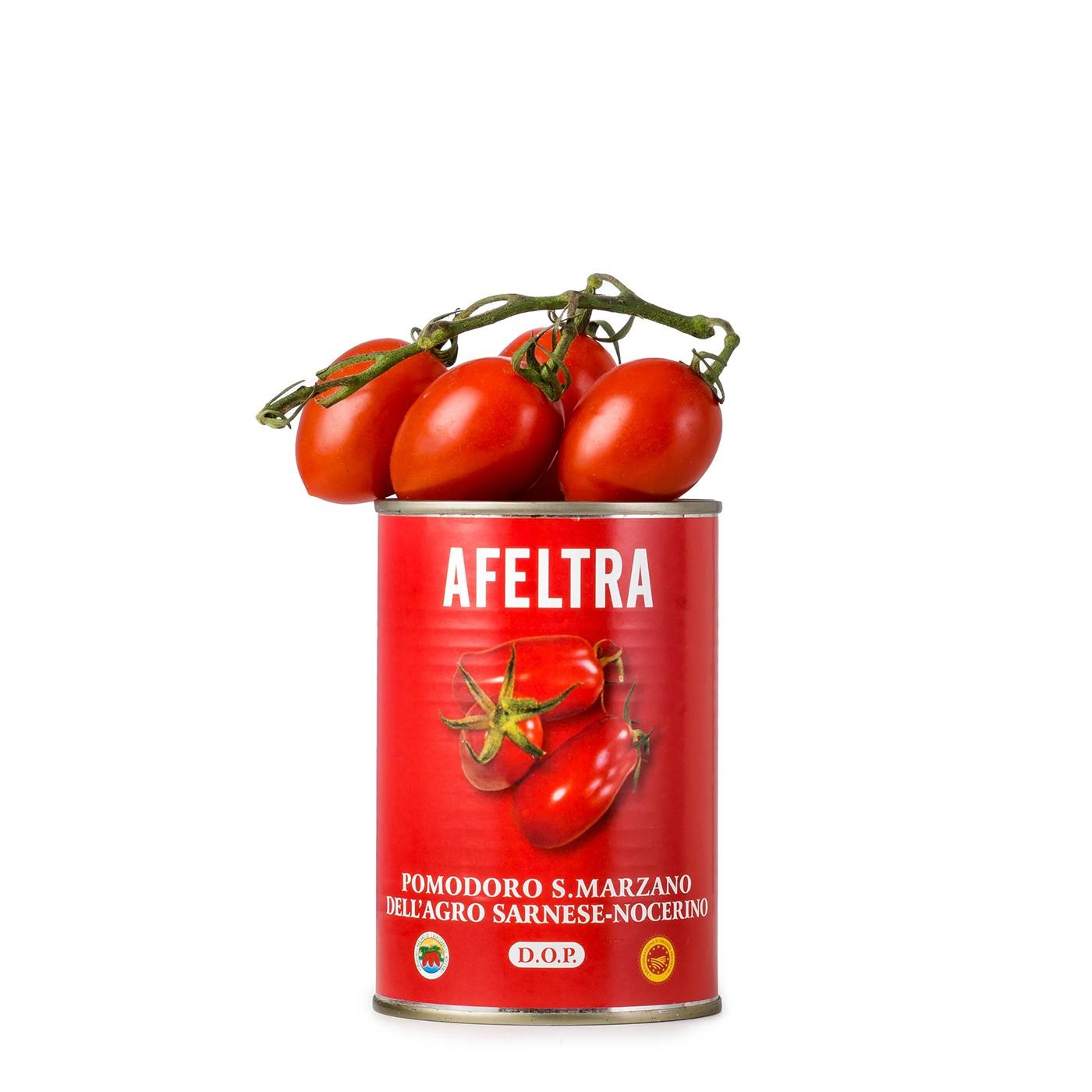 Peeled San Marzano Tomatoes 14 oz