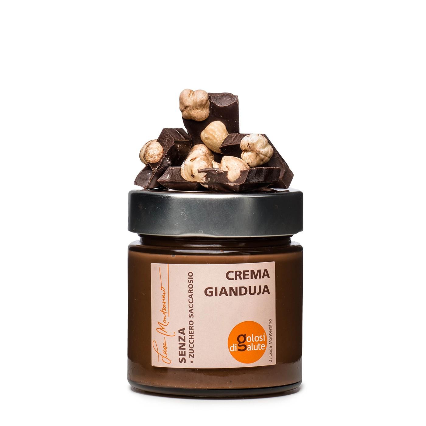 Sugar-free Gianduja Chocolate Cream 8.8 oz