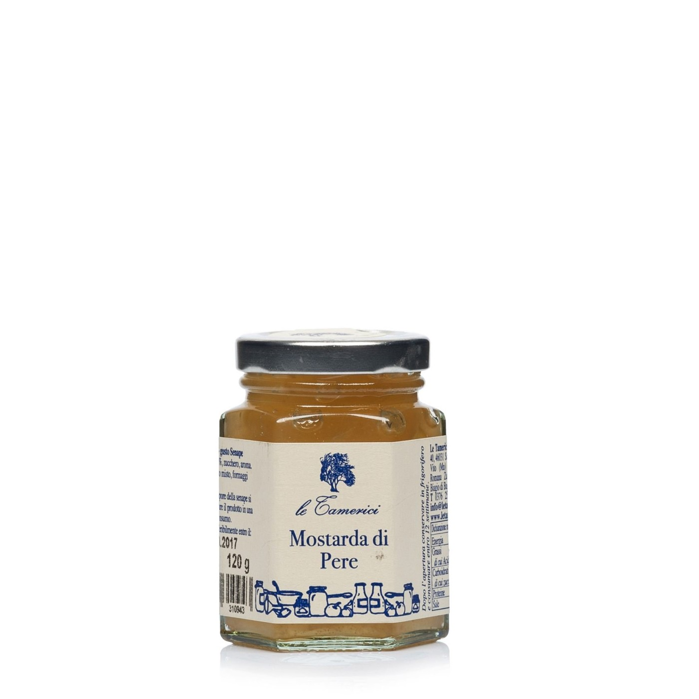 Pear Mostarda 4.2 oz