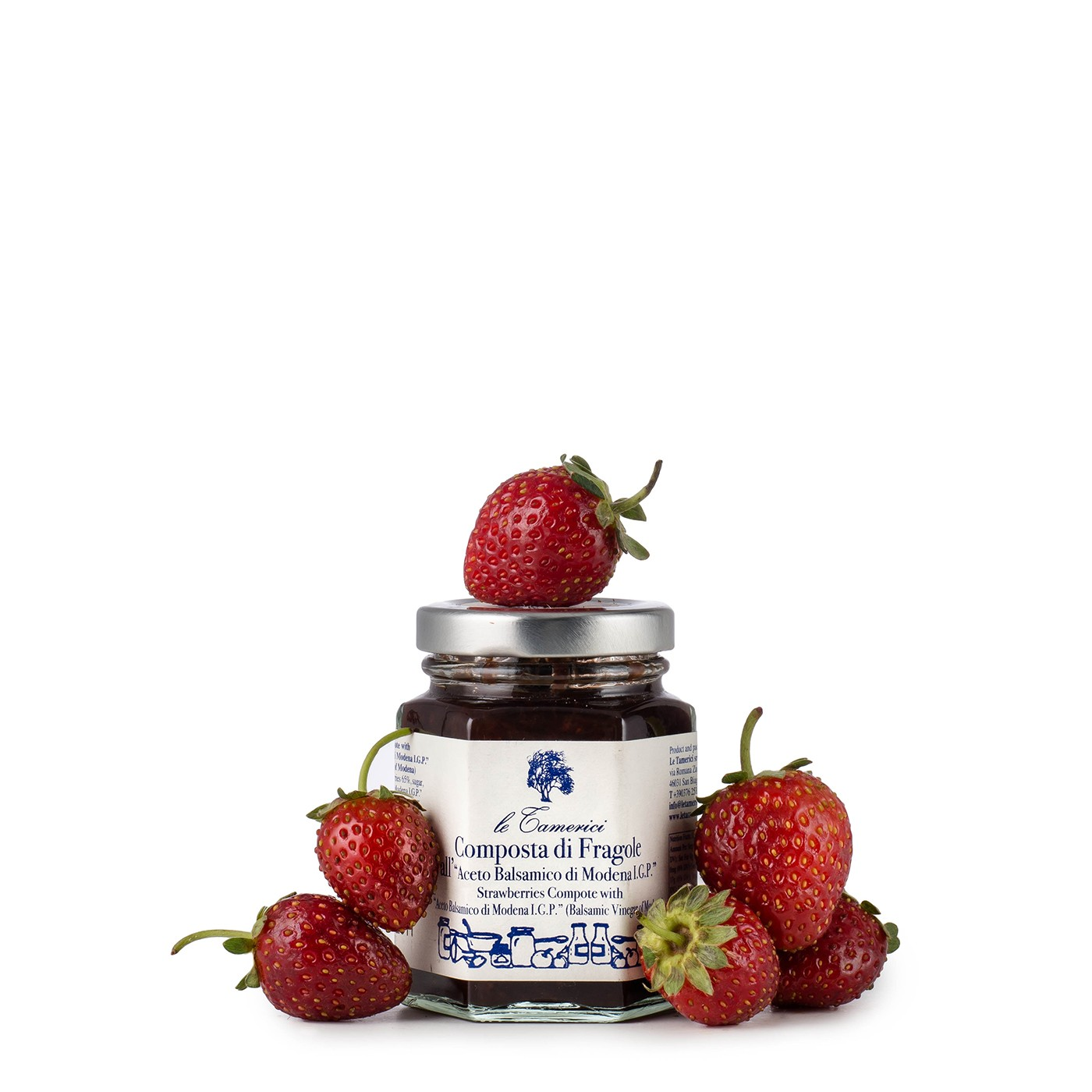 Strawberry Compote with Balsamic Vinegar 4.23 oz