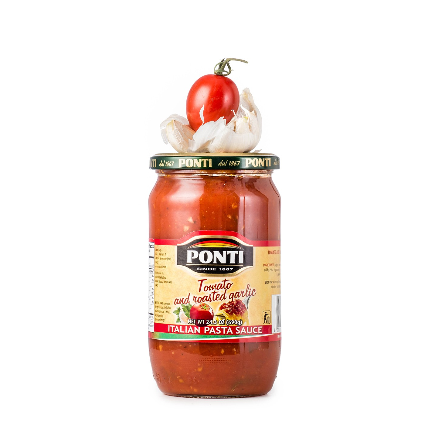 Tomato and Garlic Sauce 25.4 oz