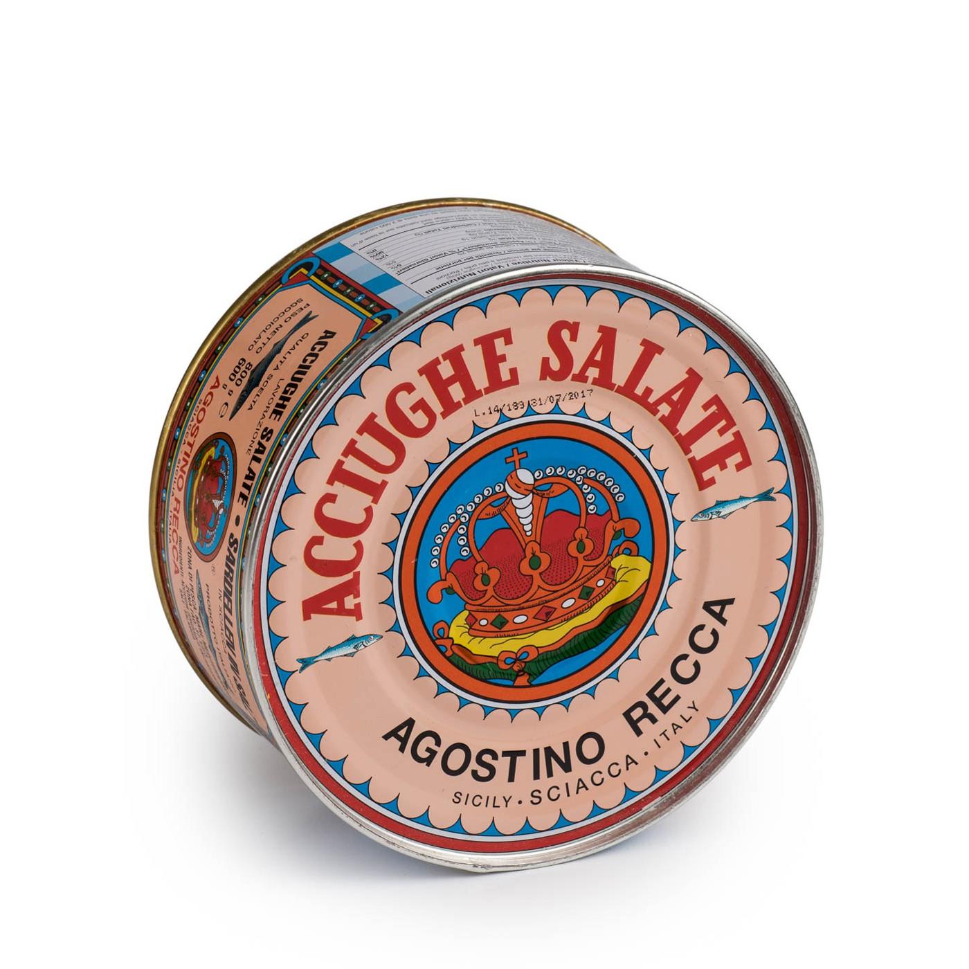 Anchovies in Salt 28.2oz