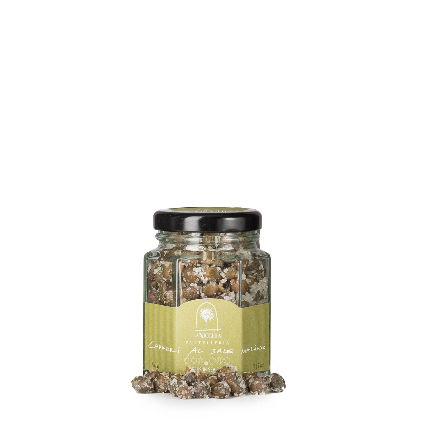 Capers in Sea Salt 3.5 oz