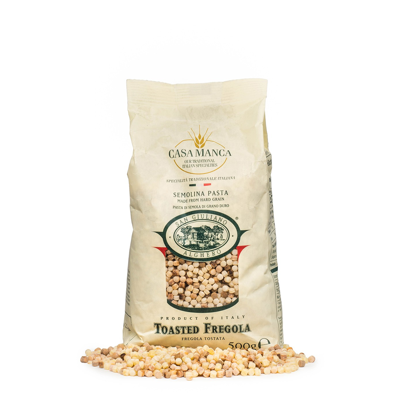 Toasted Fregola 17.6 oz