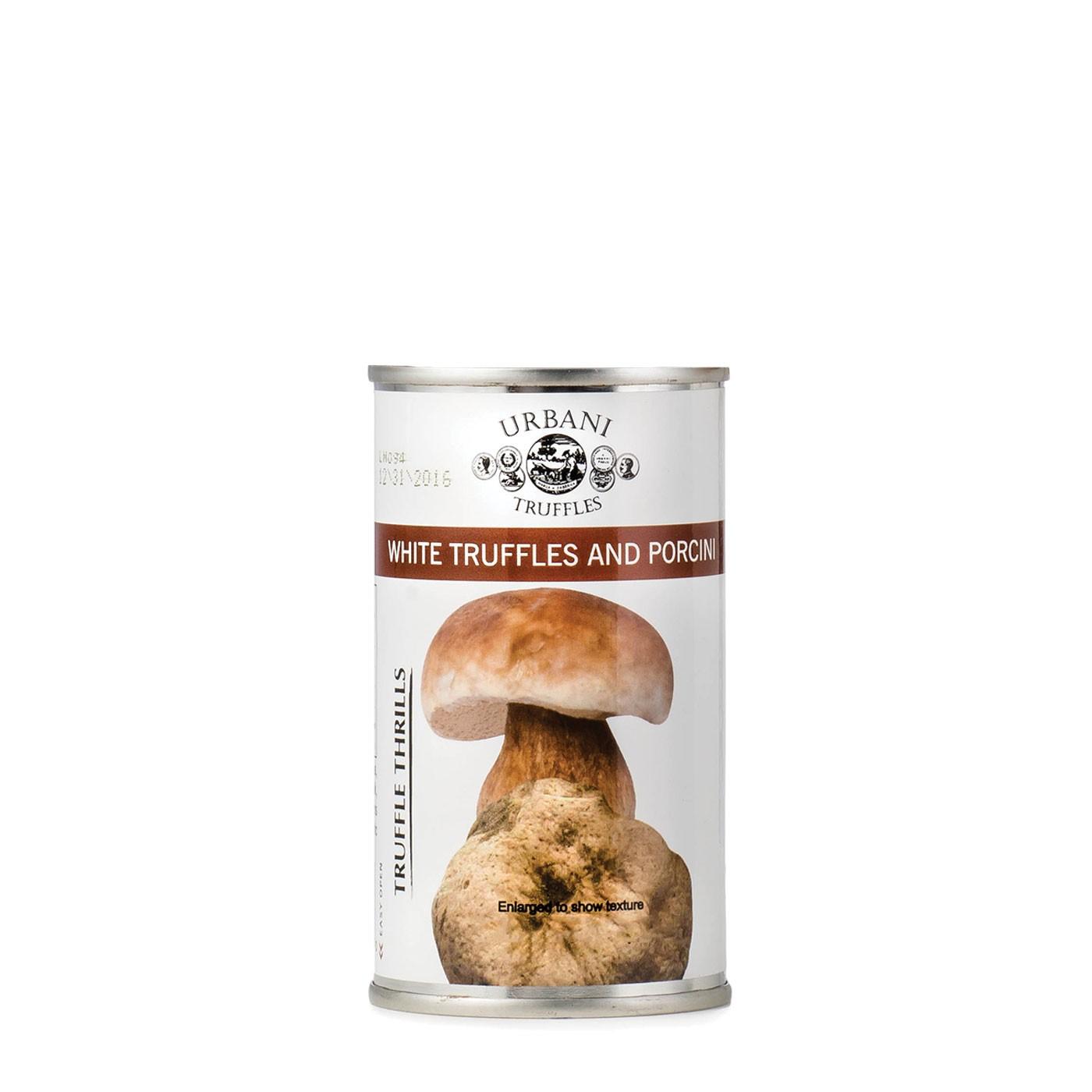 White Truffles & Porcini Mushroom Sauce
