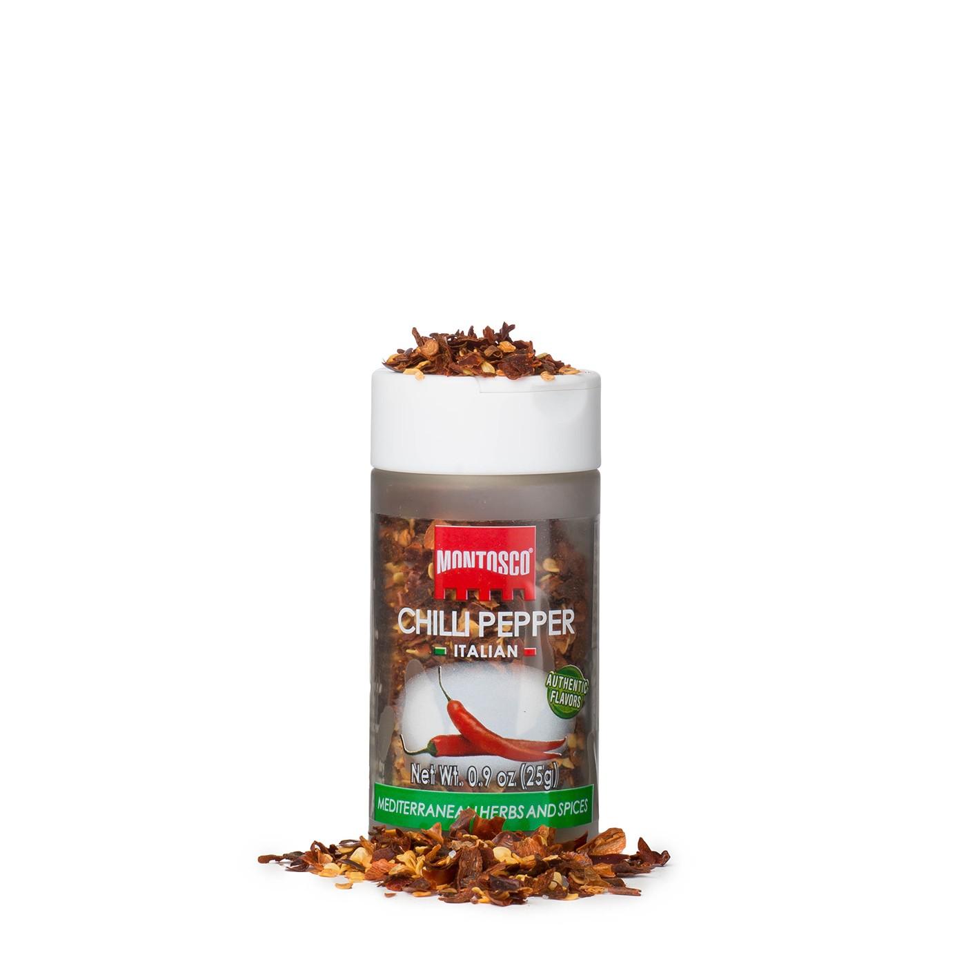 Italian Chili Pepper Flakes with Refill 0.9 oz