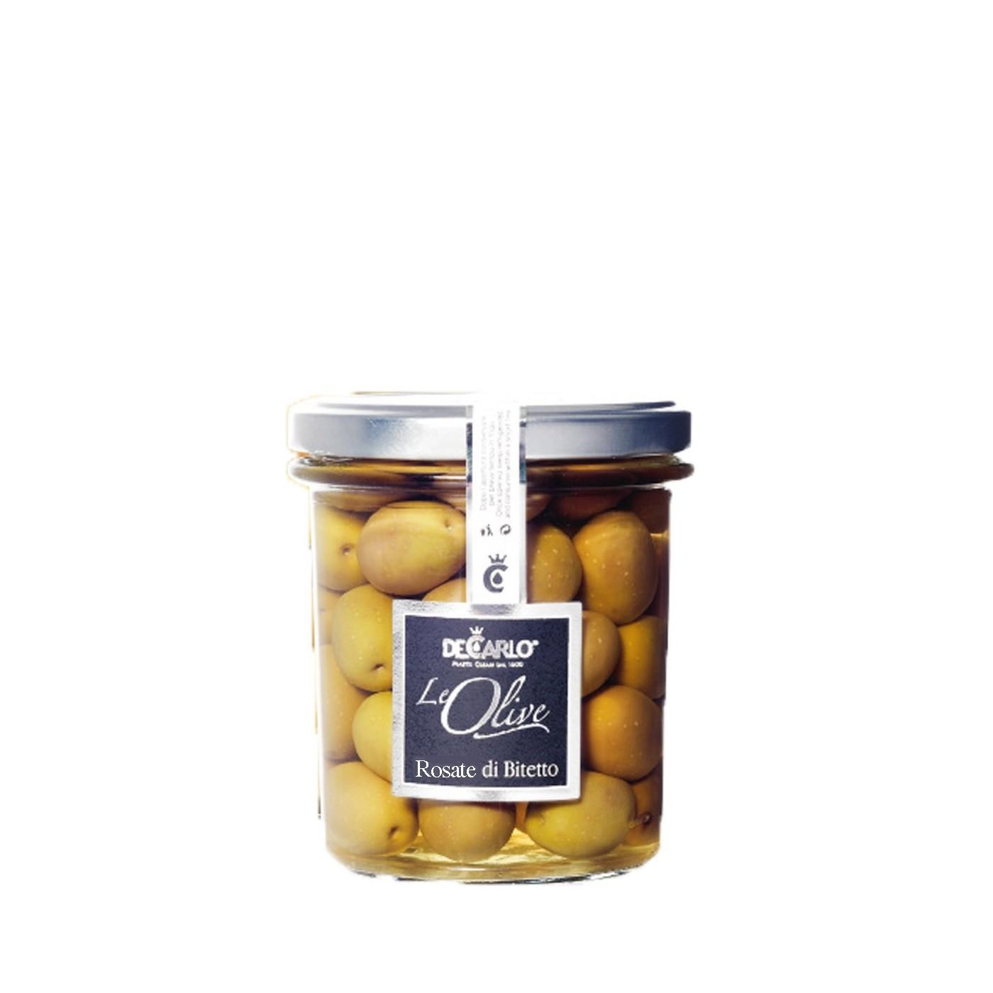 Rosate di Bitetto Olives 7.5 Oz