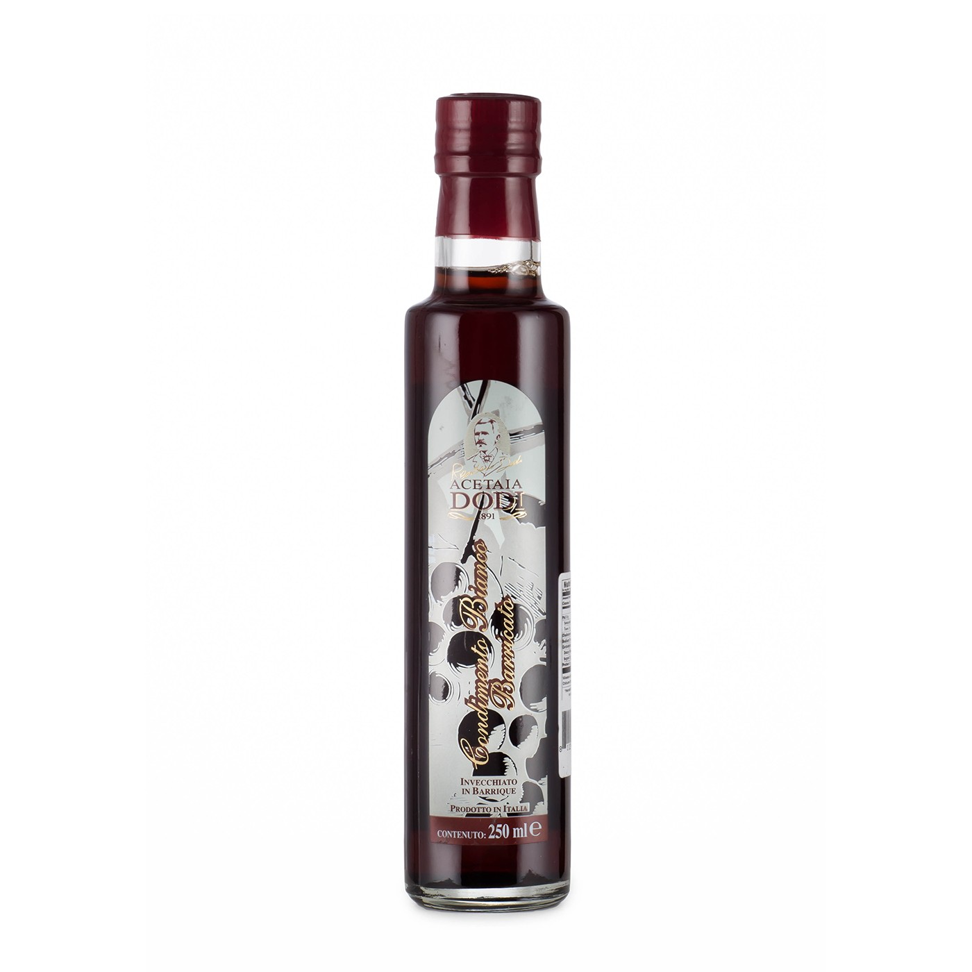 White Balsamic Vinegar Condiment 8.45 oz