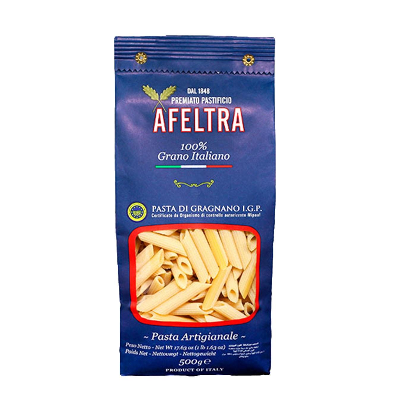 100% Italian Grain Penne Rigate 17.6oz - Afeltra
