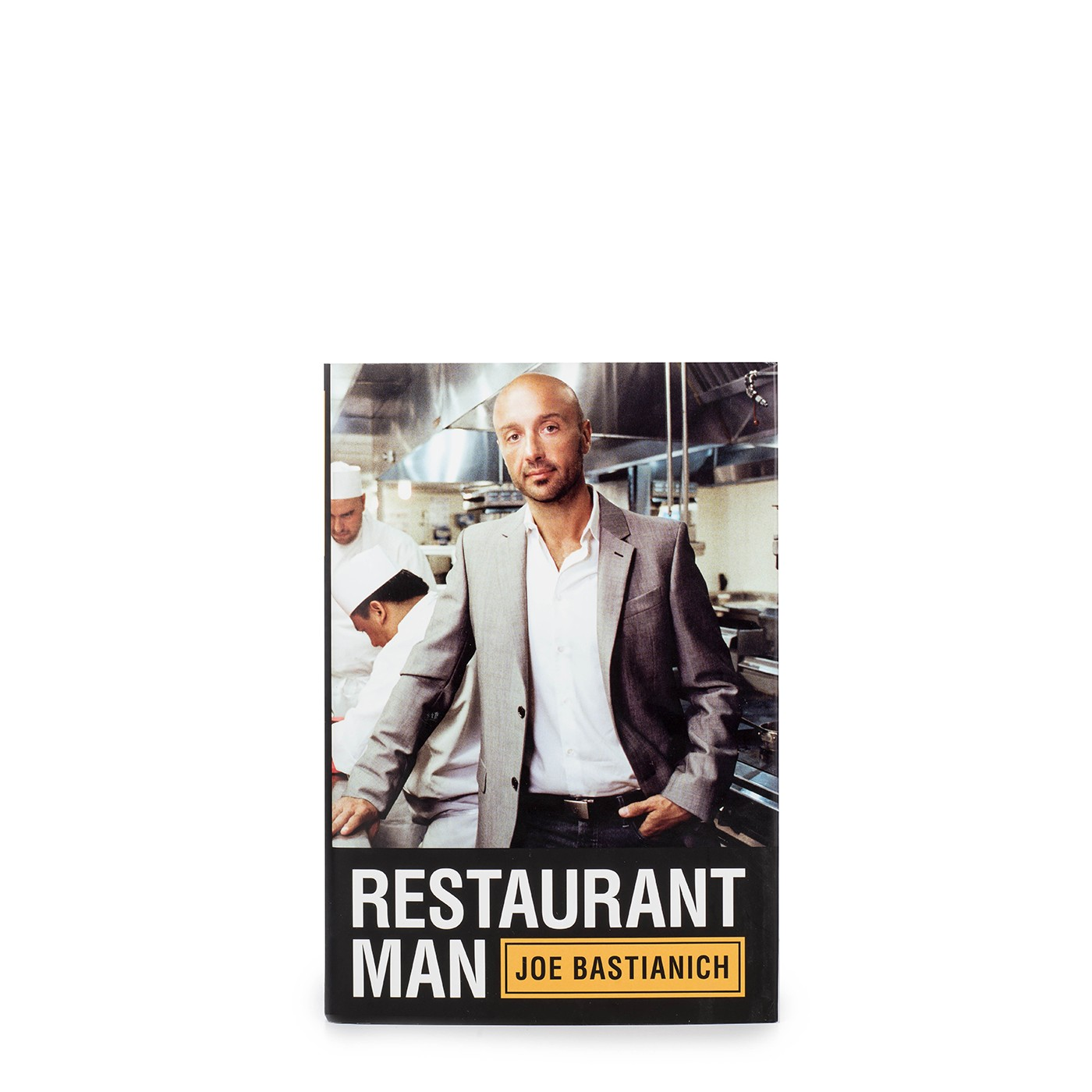 Restaurant Man (hardcover), SIGNED