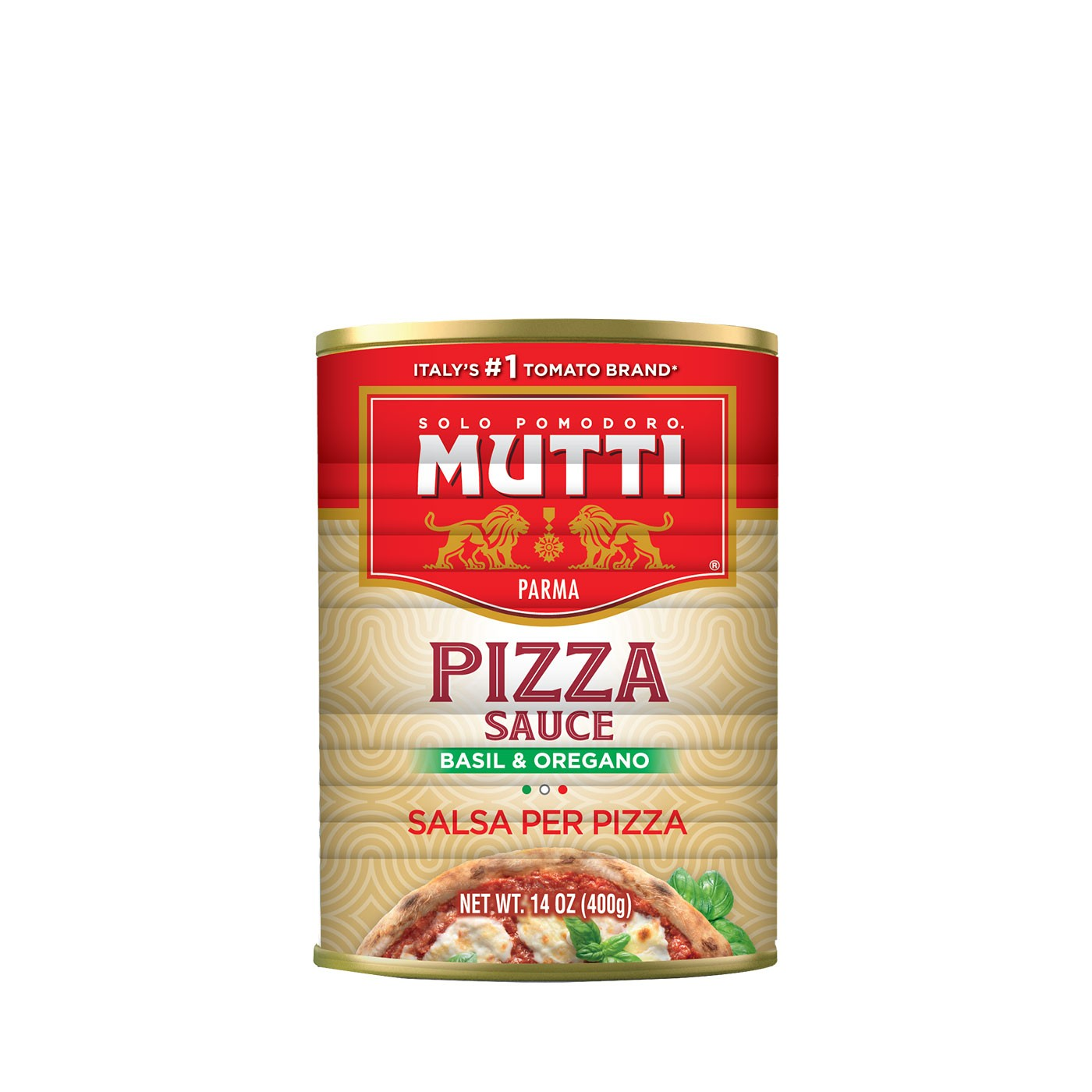 Aromatic Pizza Sauce with Spices 14 oz - Mutti | Eataly.com