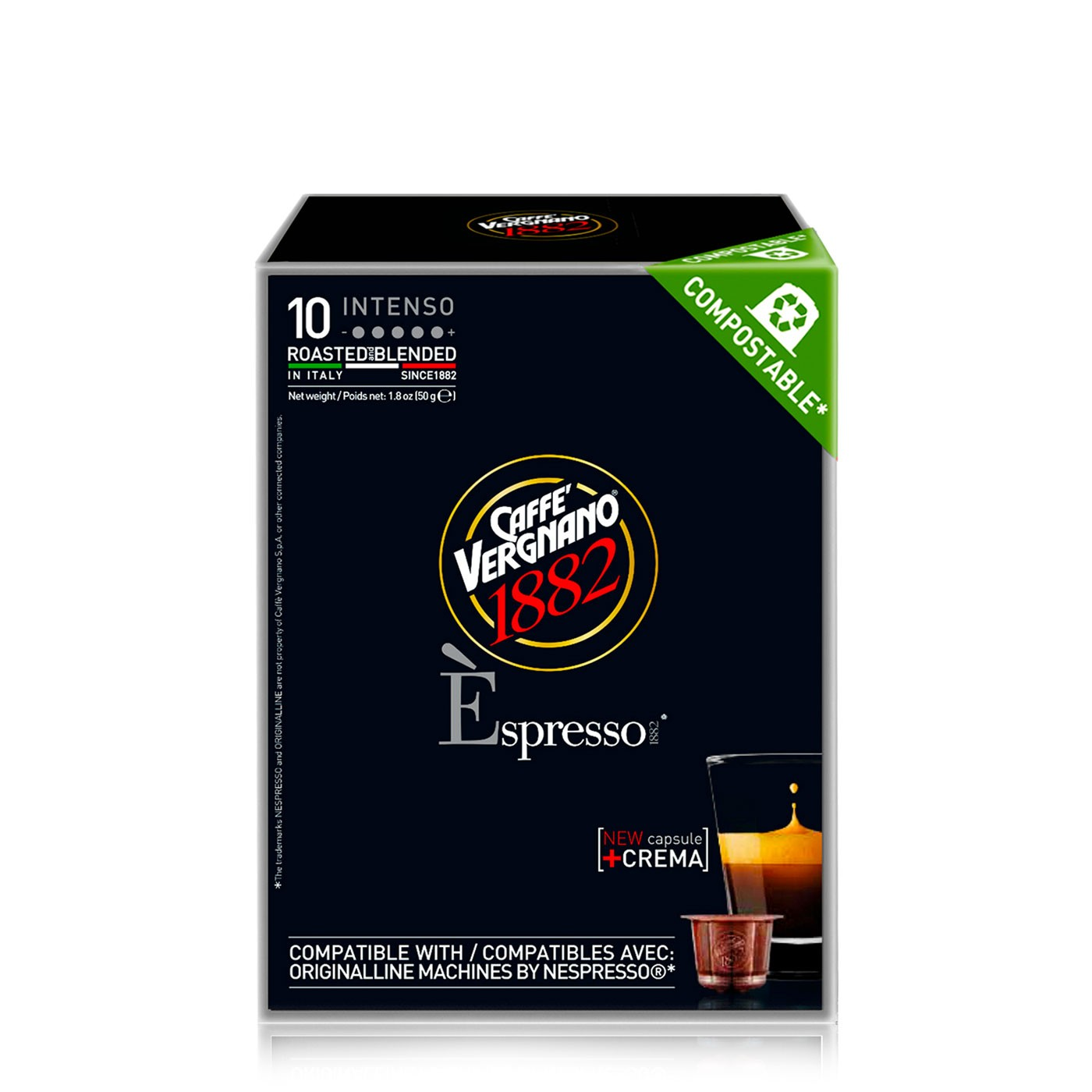 Espresso Intenso Compostable Capsules