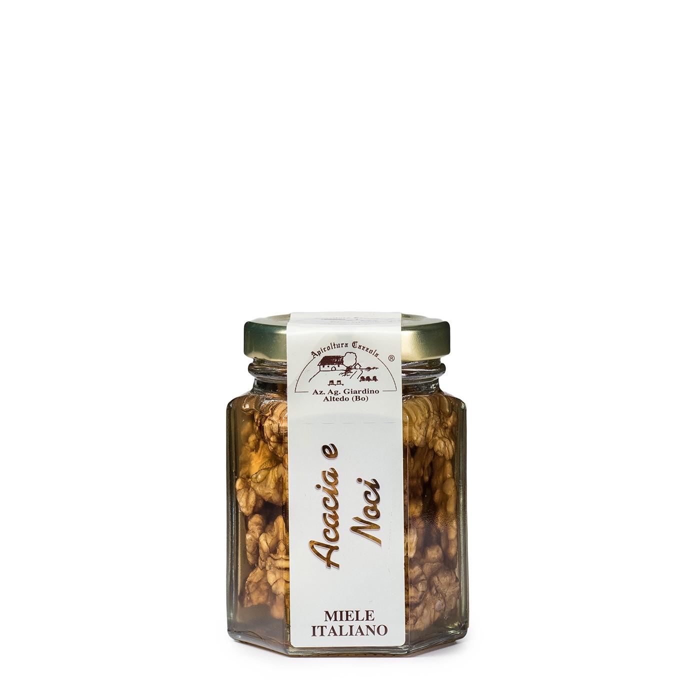 Acacia Honey with Walnuts 3.9 oz