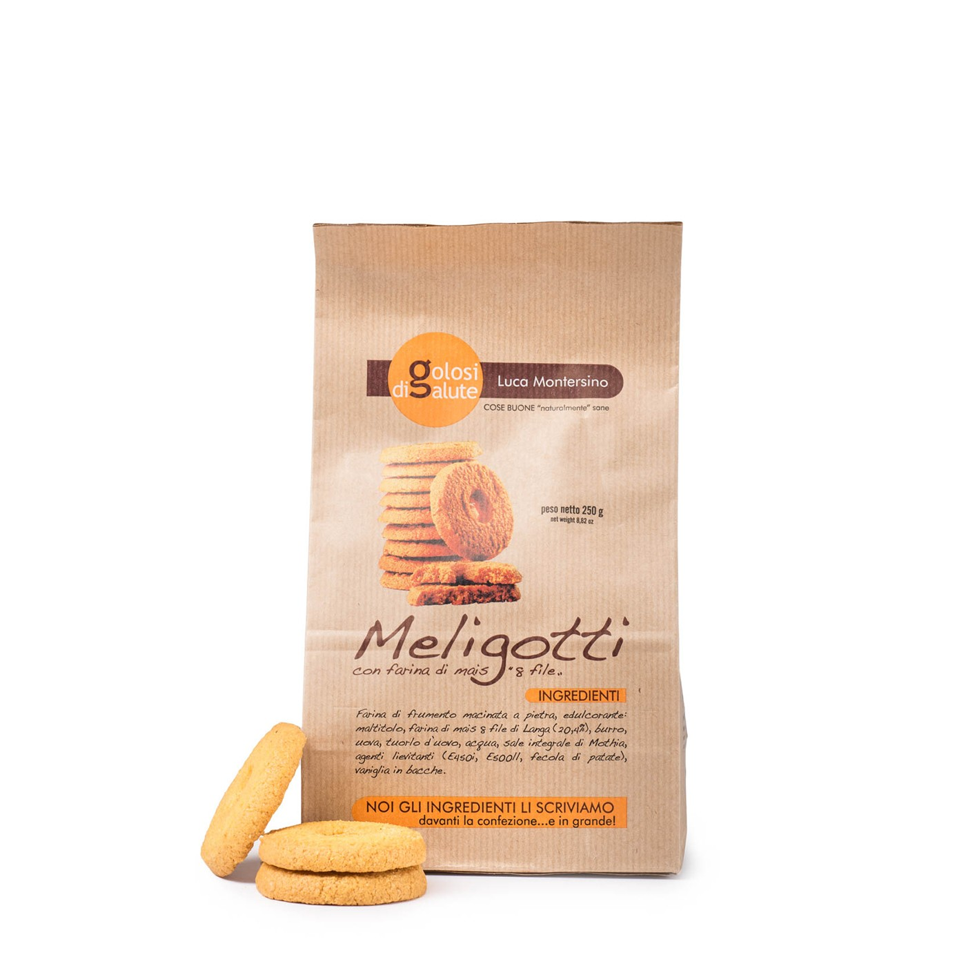Meligotti Cookies 8.8 oz