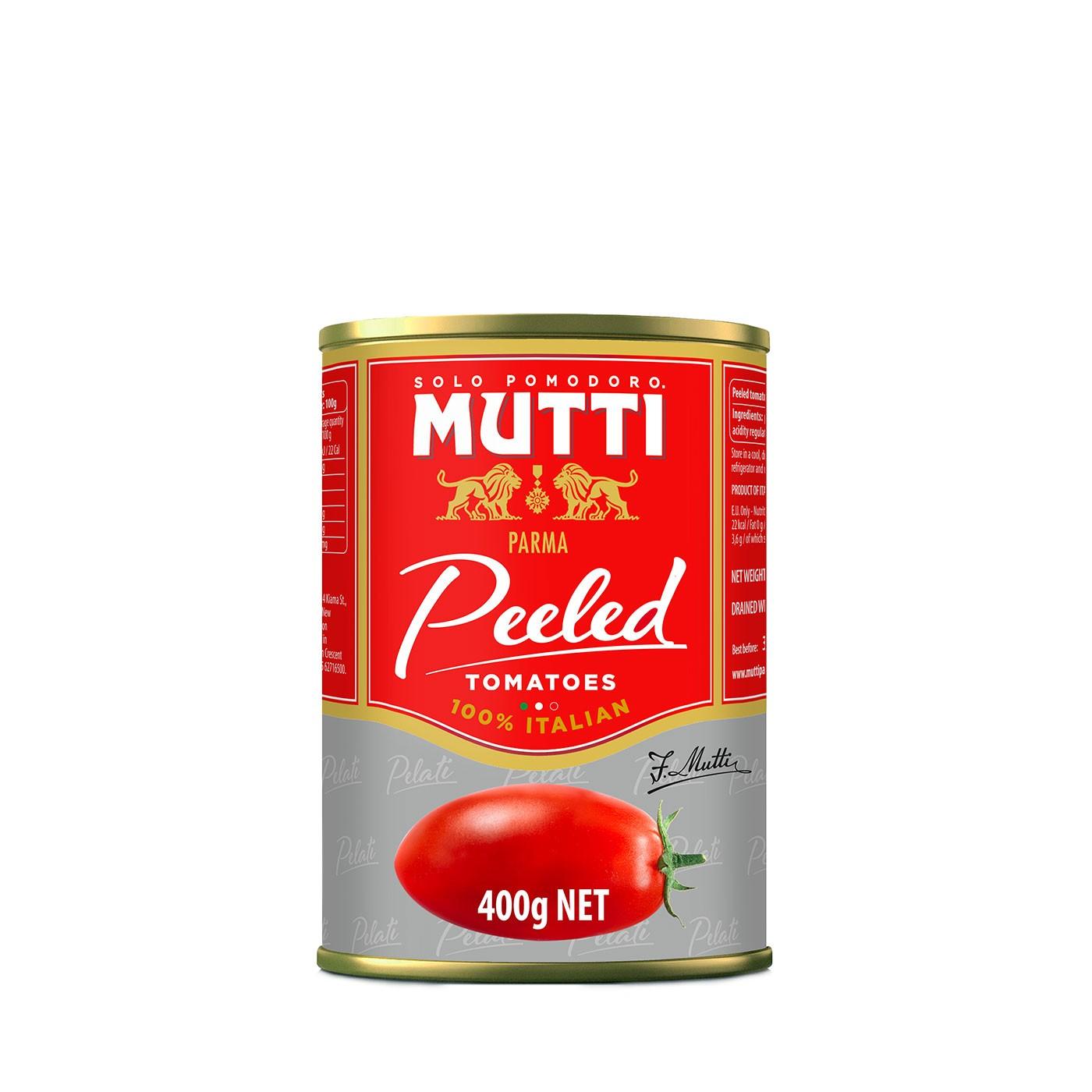 Peeled Whole Tomatoes 14 oz - Mutti   Eataly.com