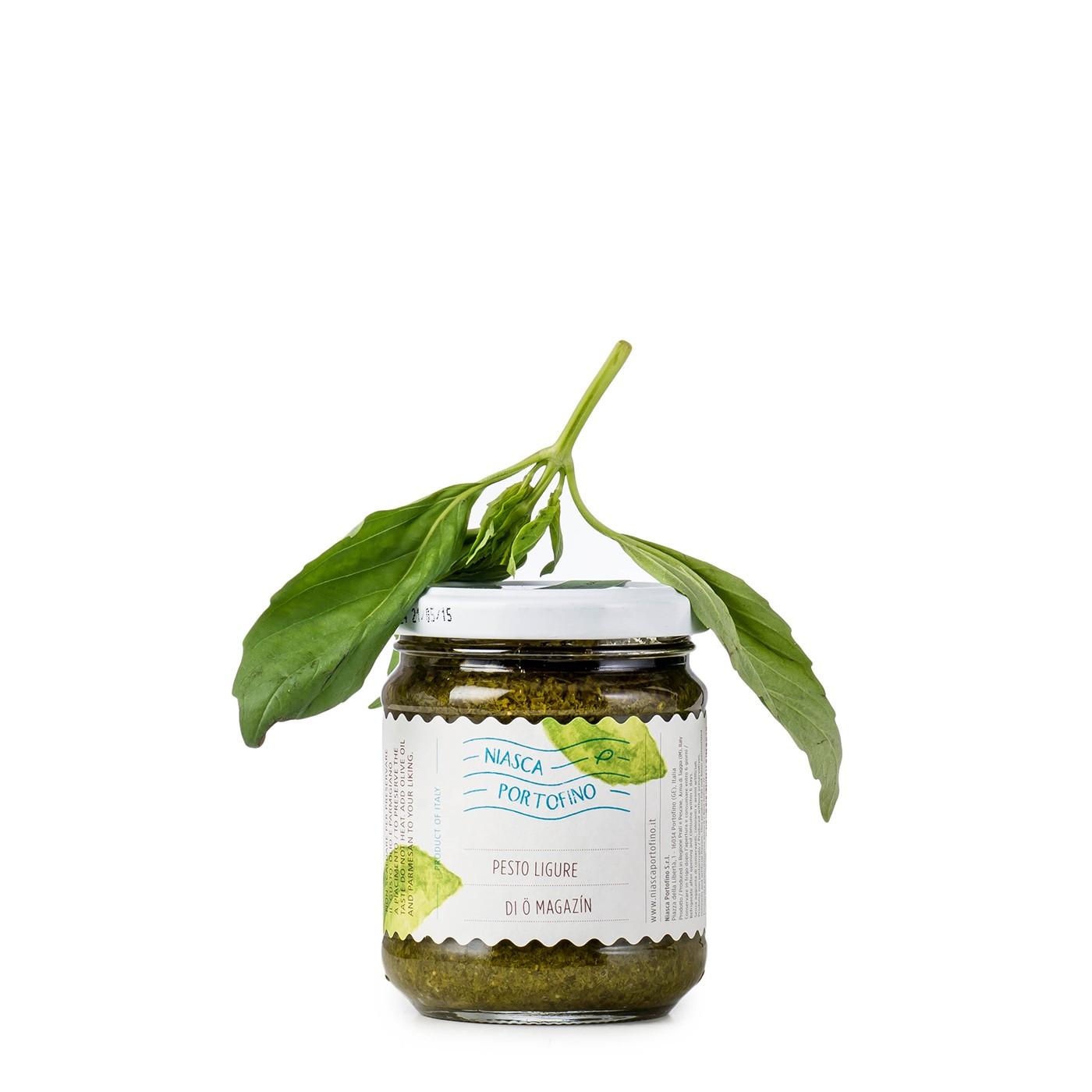Ligurian Pesto without Garlic 6.3 oz