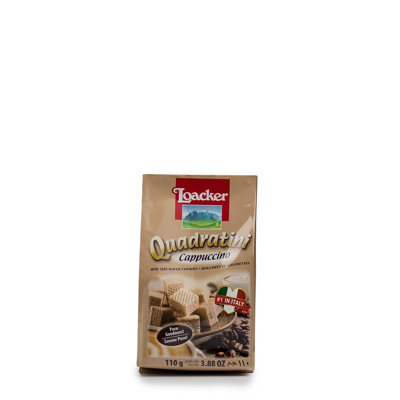 Cappuccino Quadratini 3.9 oz