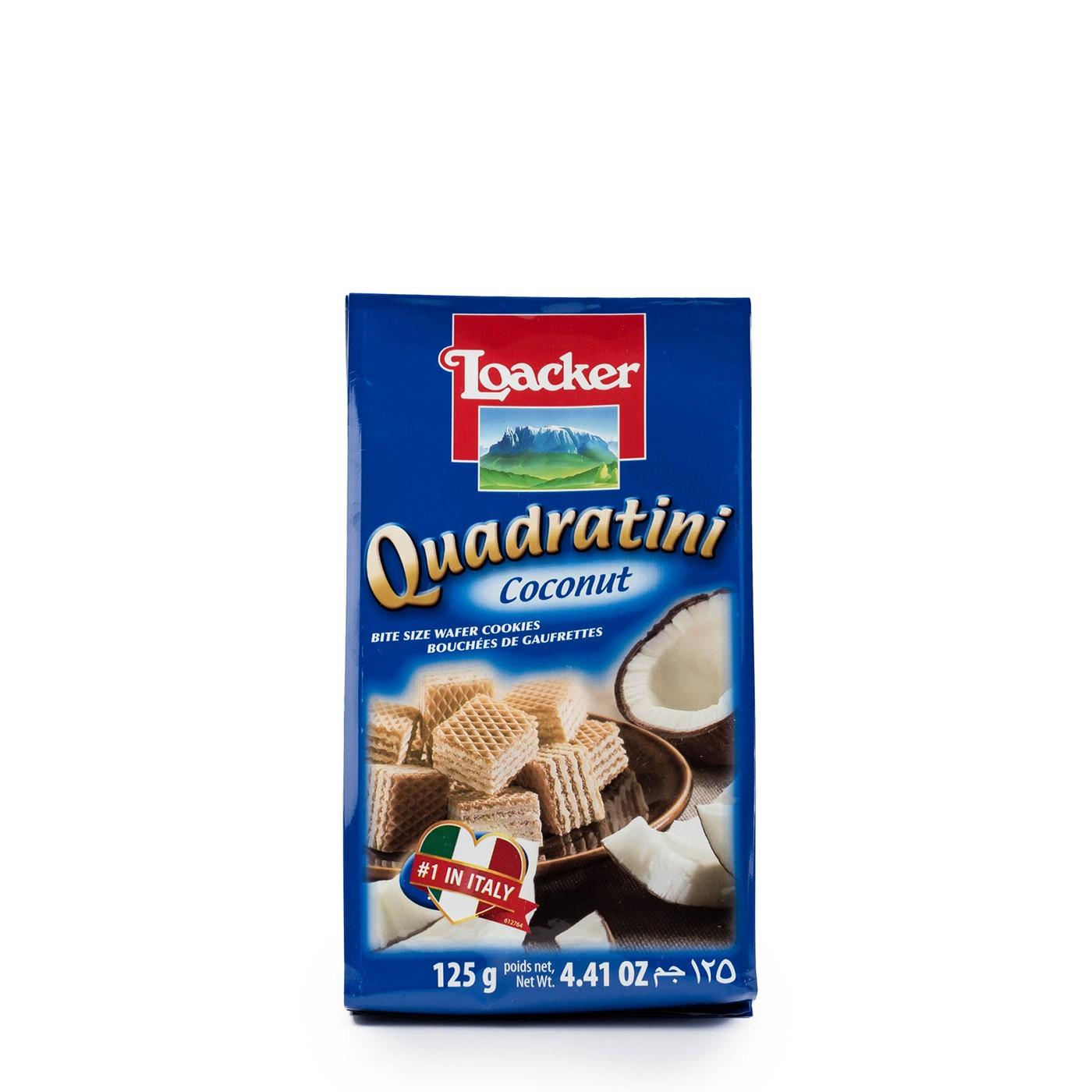 Coconut Quadratini 4.4 oz