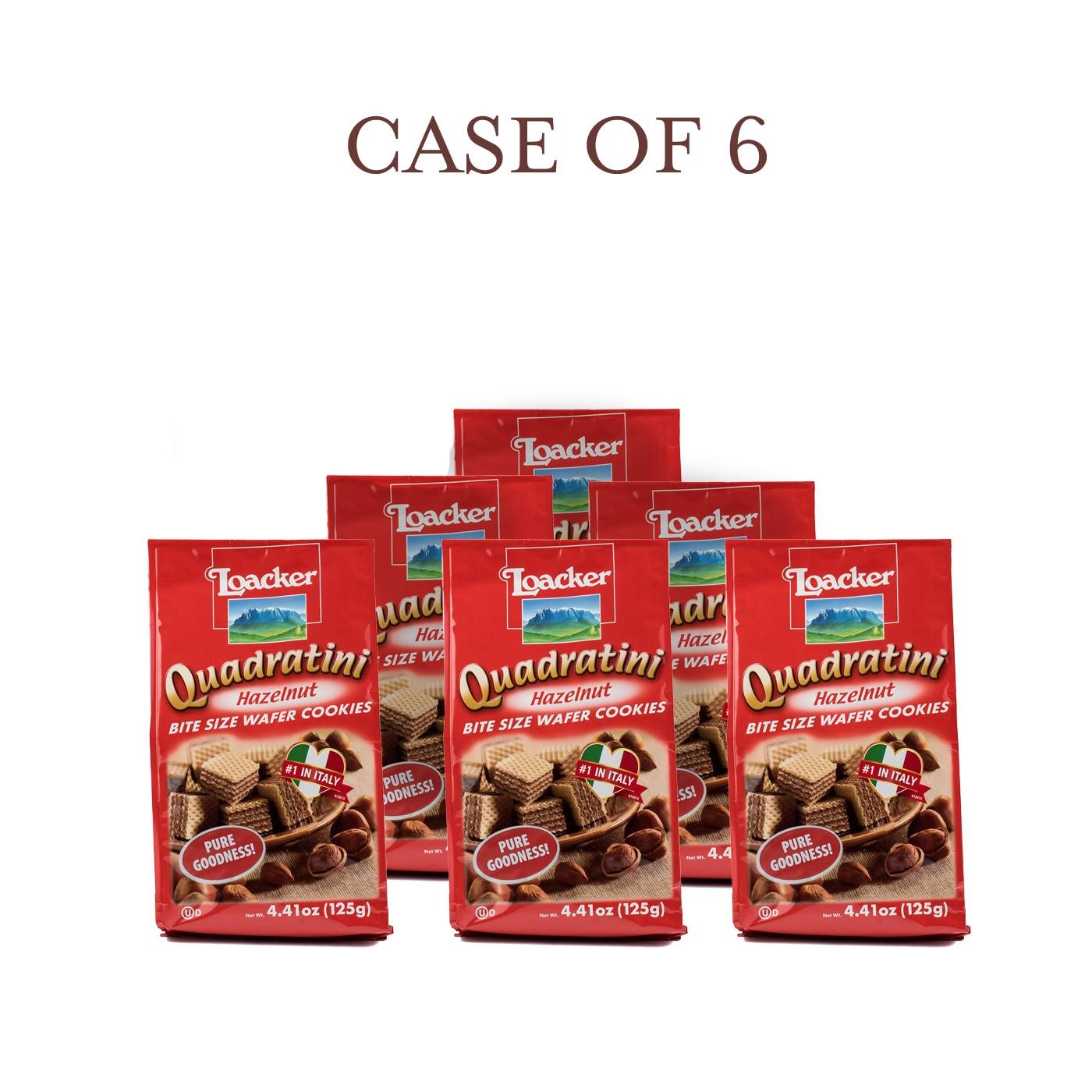 Hazelnut Quadratini - Case of 6