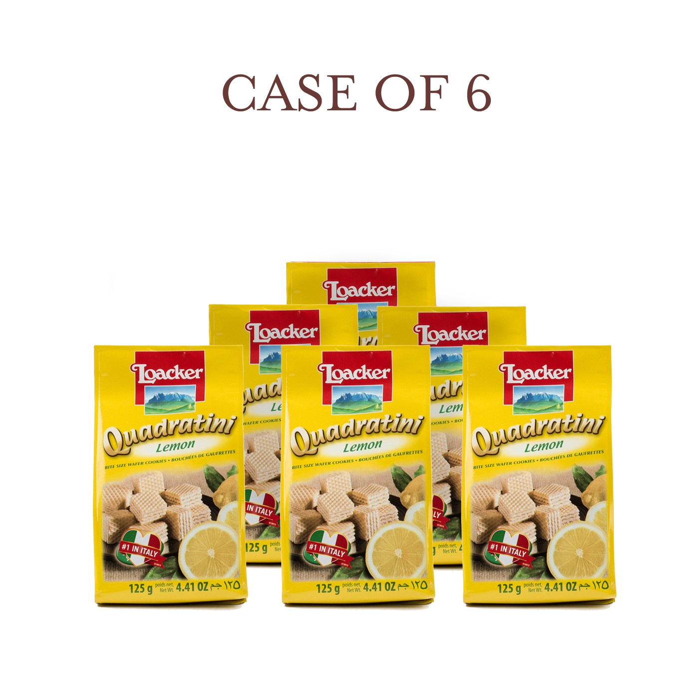Lemon Quadratini - Case of 6