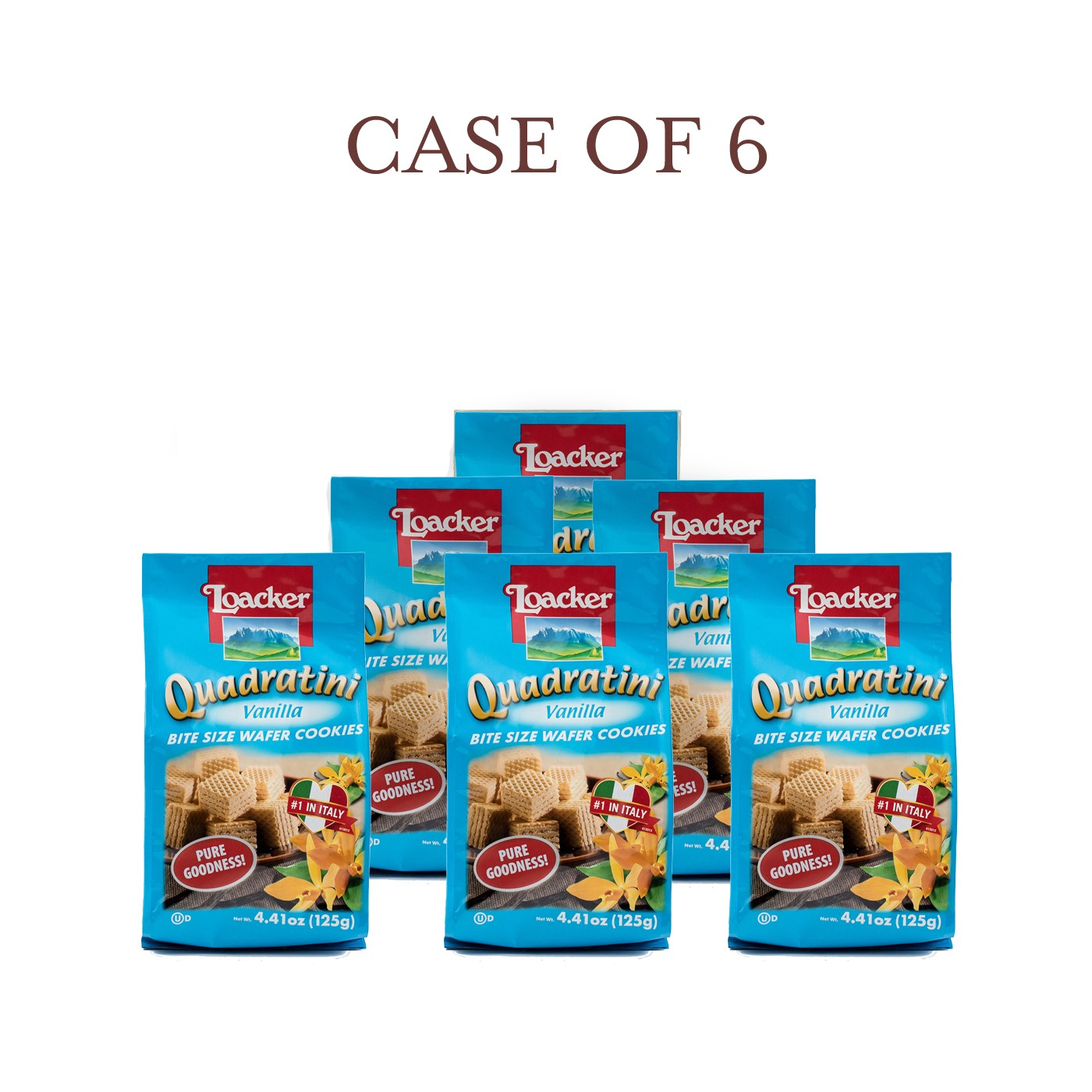 Vanilla Quadratini - Case of 6