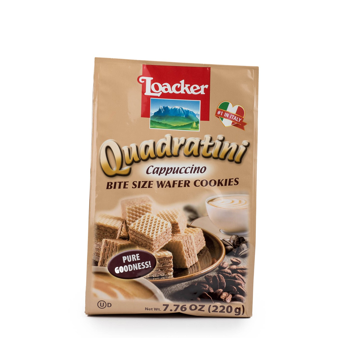 Cappuccino Quadratini 7.8 oz
