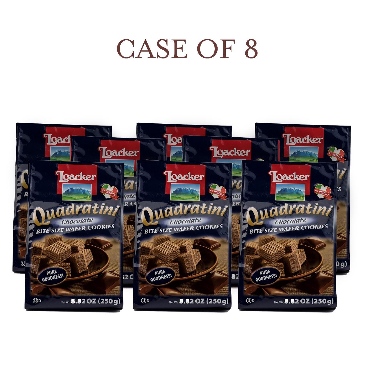 Chocolate Quadratini - Case of 8