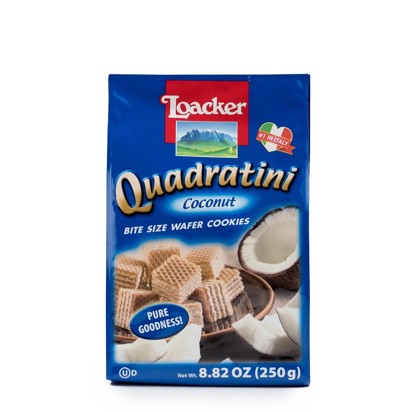 Coconut Quadratini 8.8 oz