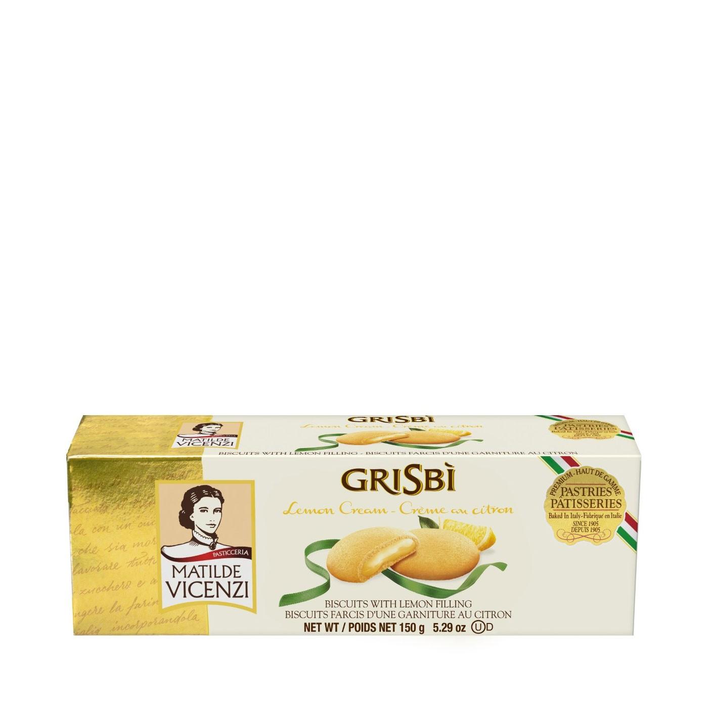 Grisbì Lemon-Filled Cookies 5.3oz